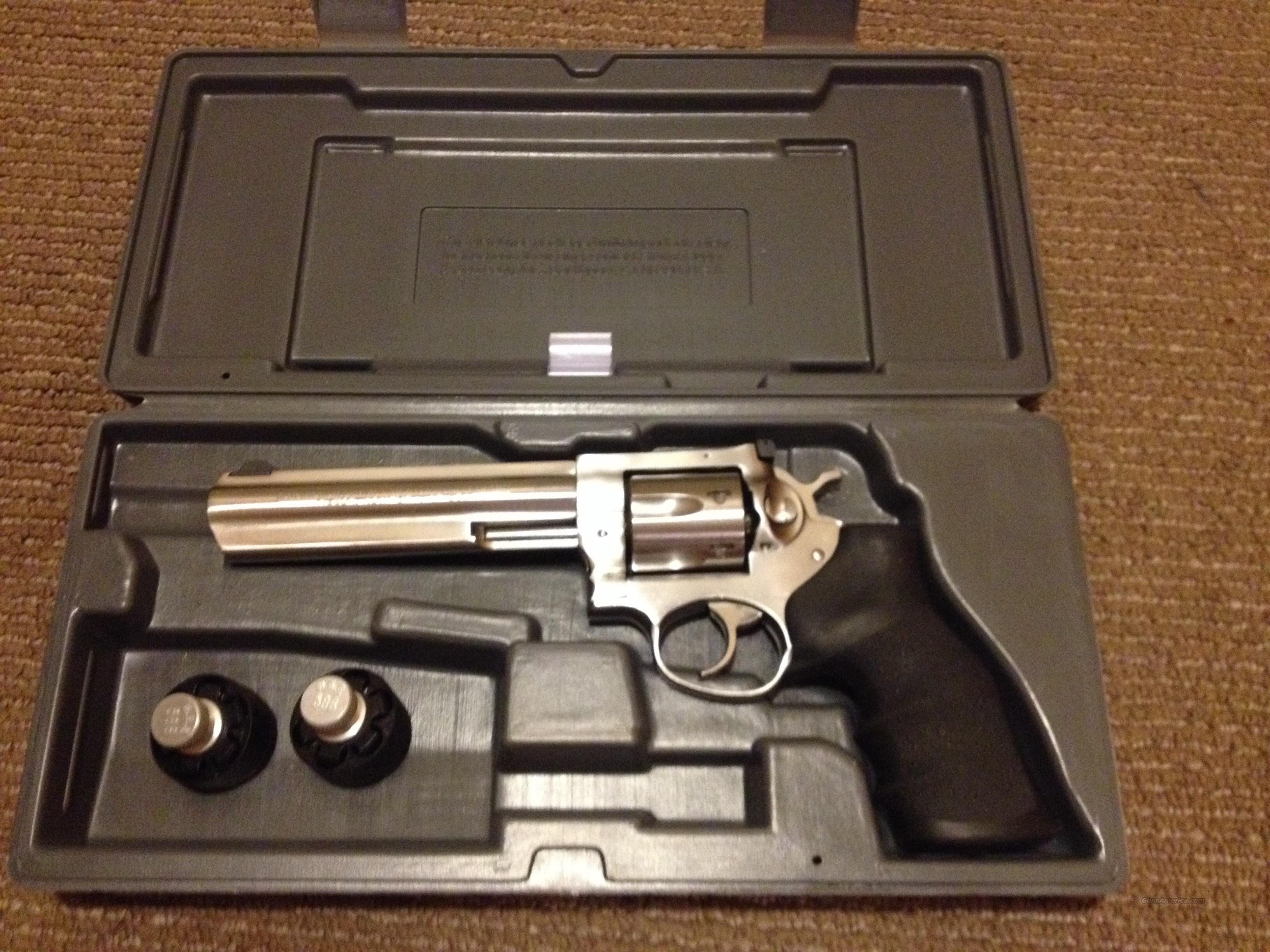Ruger GP100 357 Magnum 6 Inch No Reserve  Guns > Pistols > Ruger Double Action Revolver > Redhawk Type