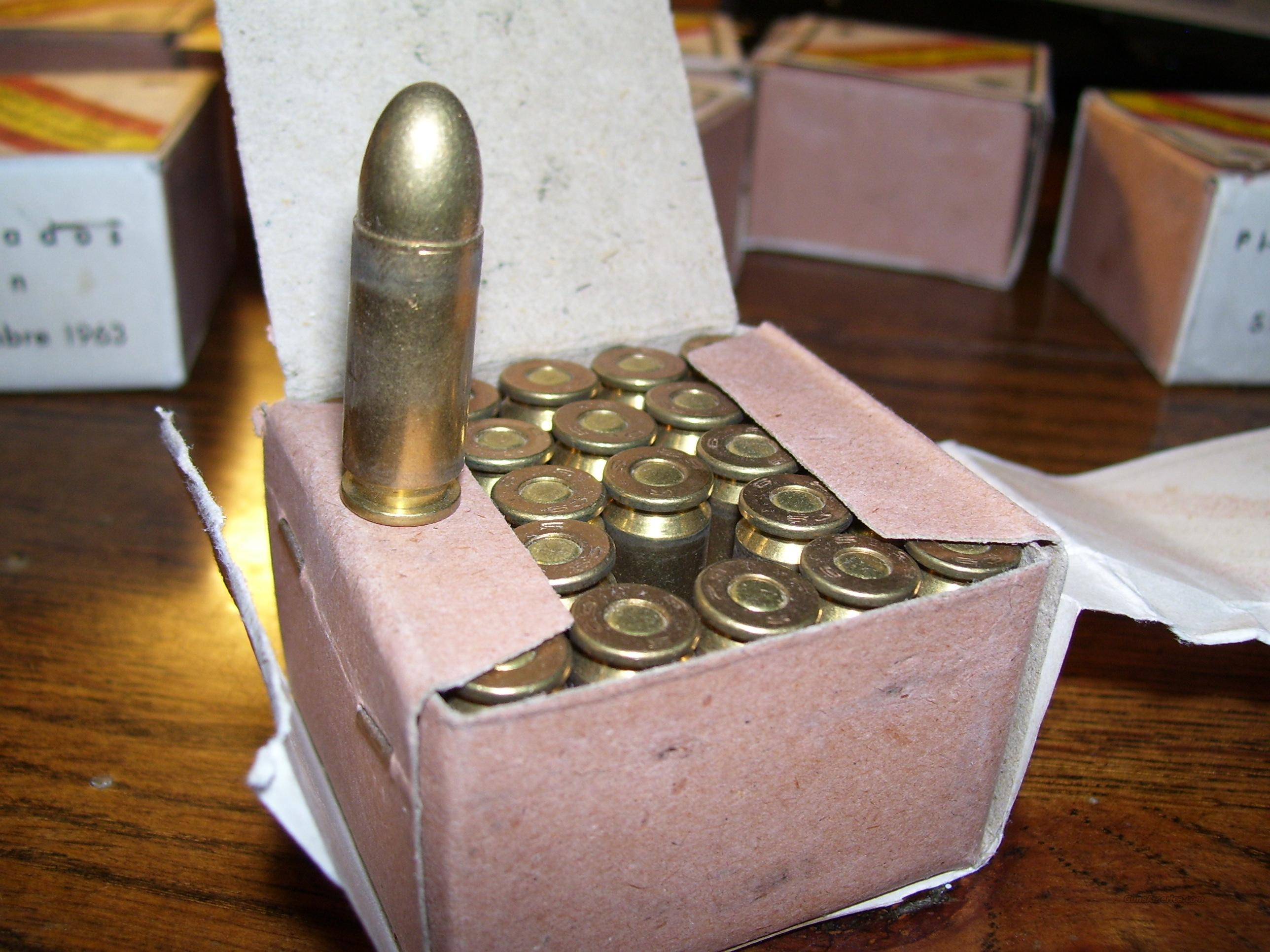 250 rounds 9mm Largo, 9x23 Bergmann  Non-Guns > Ammunition