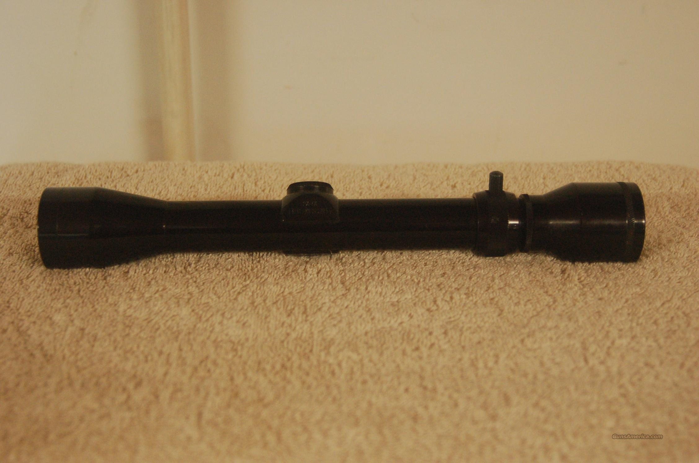 PRICE DROP! Browning 2-7X Rifle Scope From 1966! Nice!  Non-Guns > Scopes/Mounts/Rings & Optics > Rifle Scopes > Variable Focal Length
