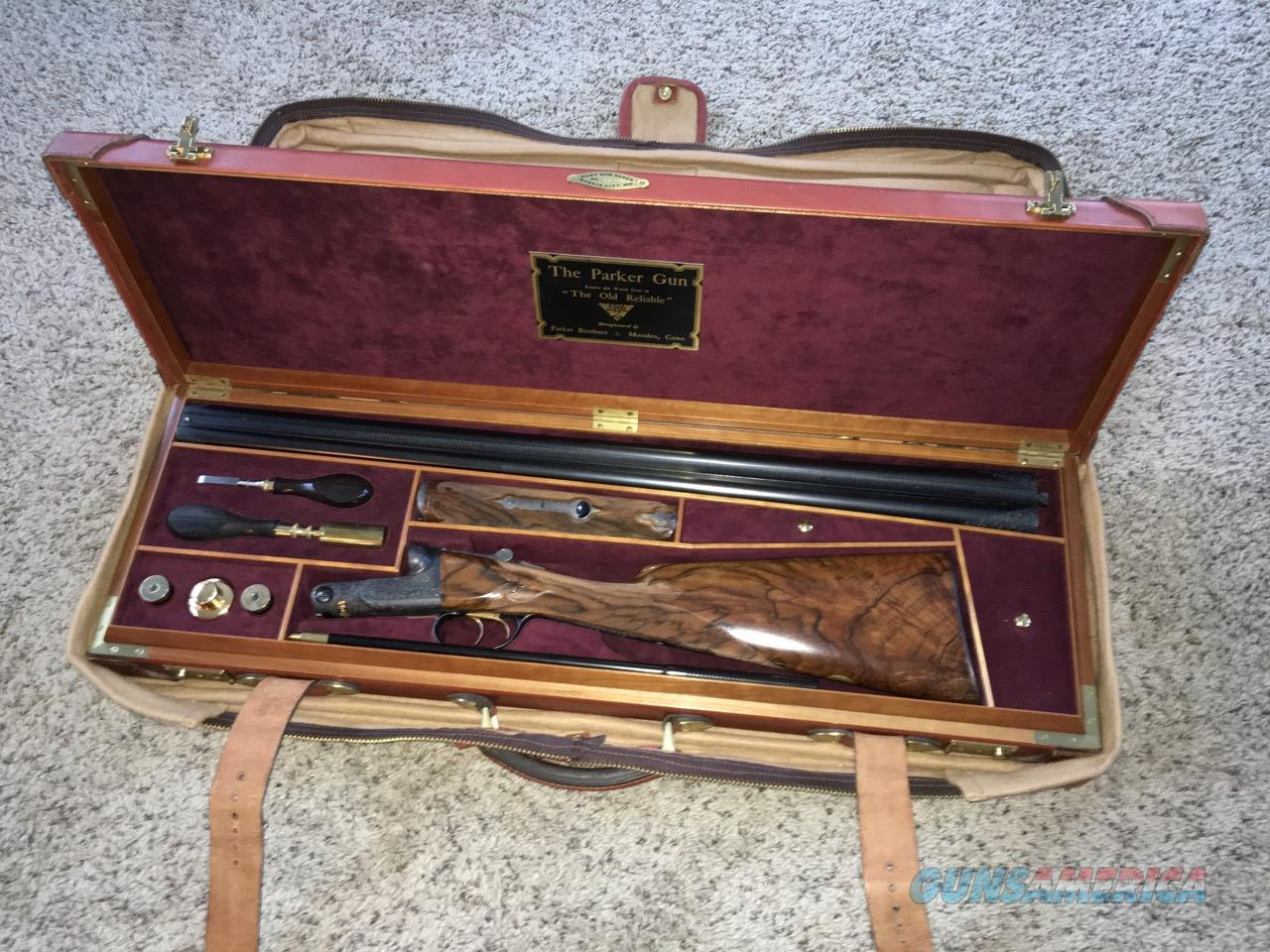 Parker A-1 12 ga Upgrade by Dan McCombs, Jack Haugh, Marvin Huey etc.  Guns > Shotguns > Parker Shotguns