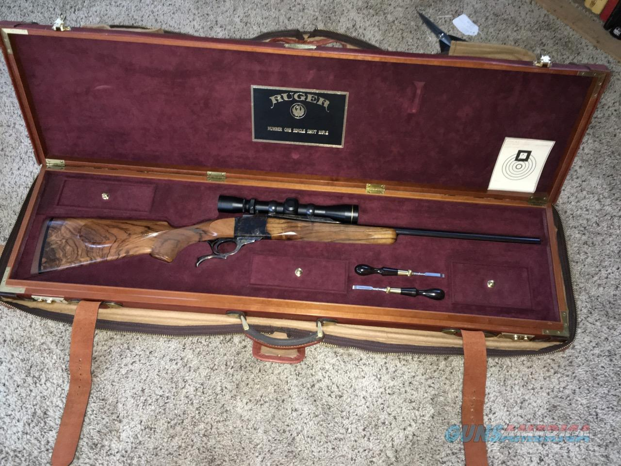 Ruger #1 22LR Custom w Huey case - Left or Right hand shooter  Guns > Rifles > Ruger Rifles > #1 Type
