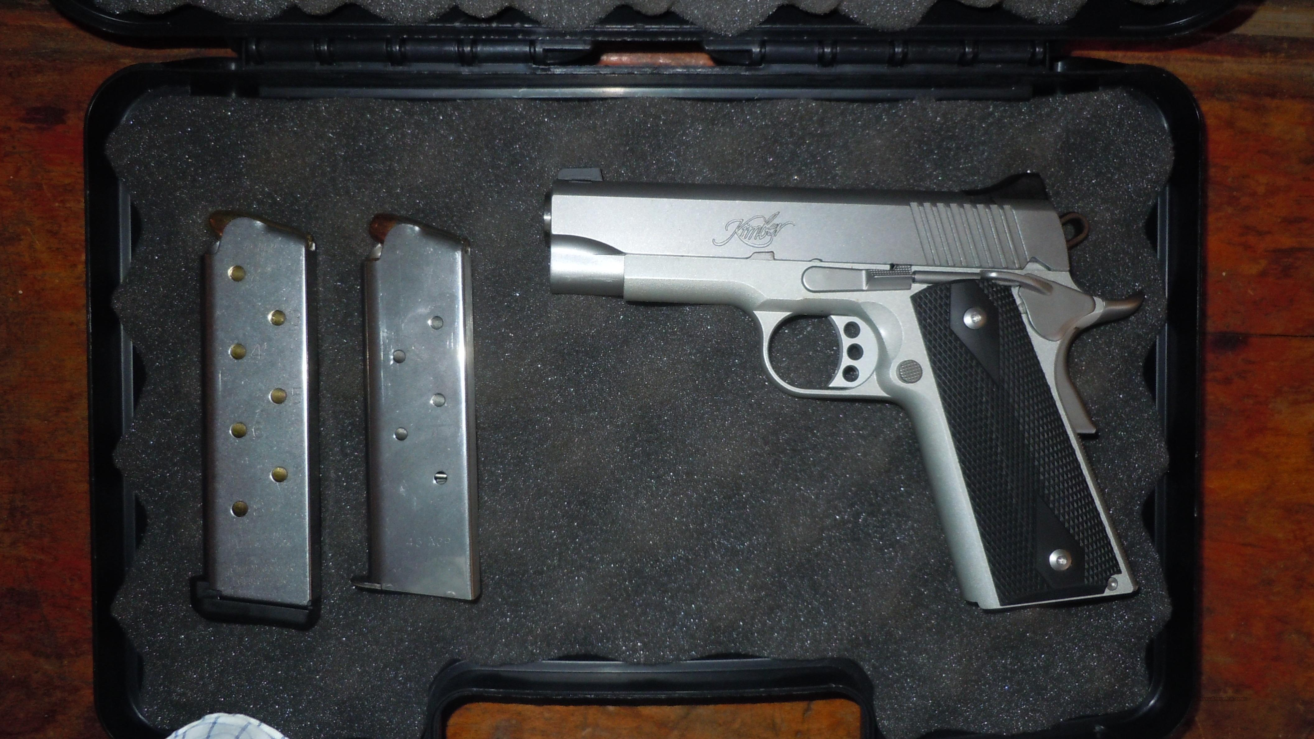 Kimber Pro Carry II Stainless  Guns > Pistols > 1911 Pistol Copies (non-Colt)