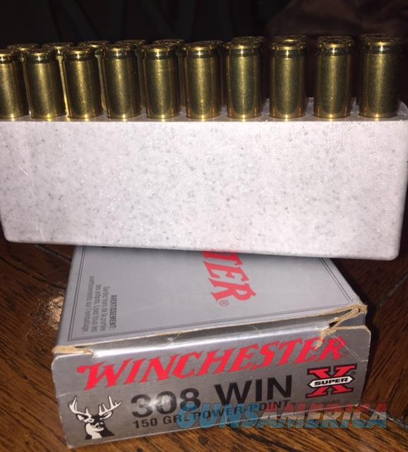 .308 Winchester Super X 150 Gr power point  Non-Guns > Ammunition