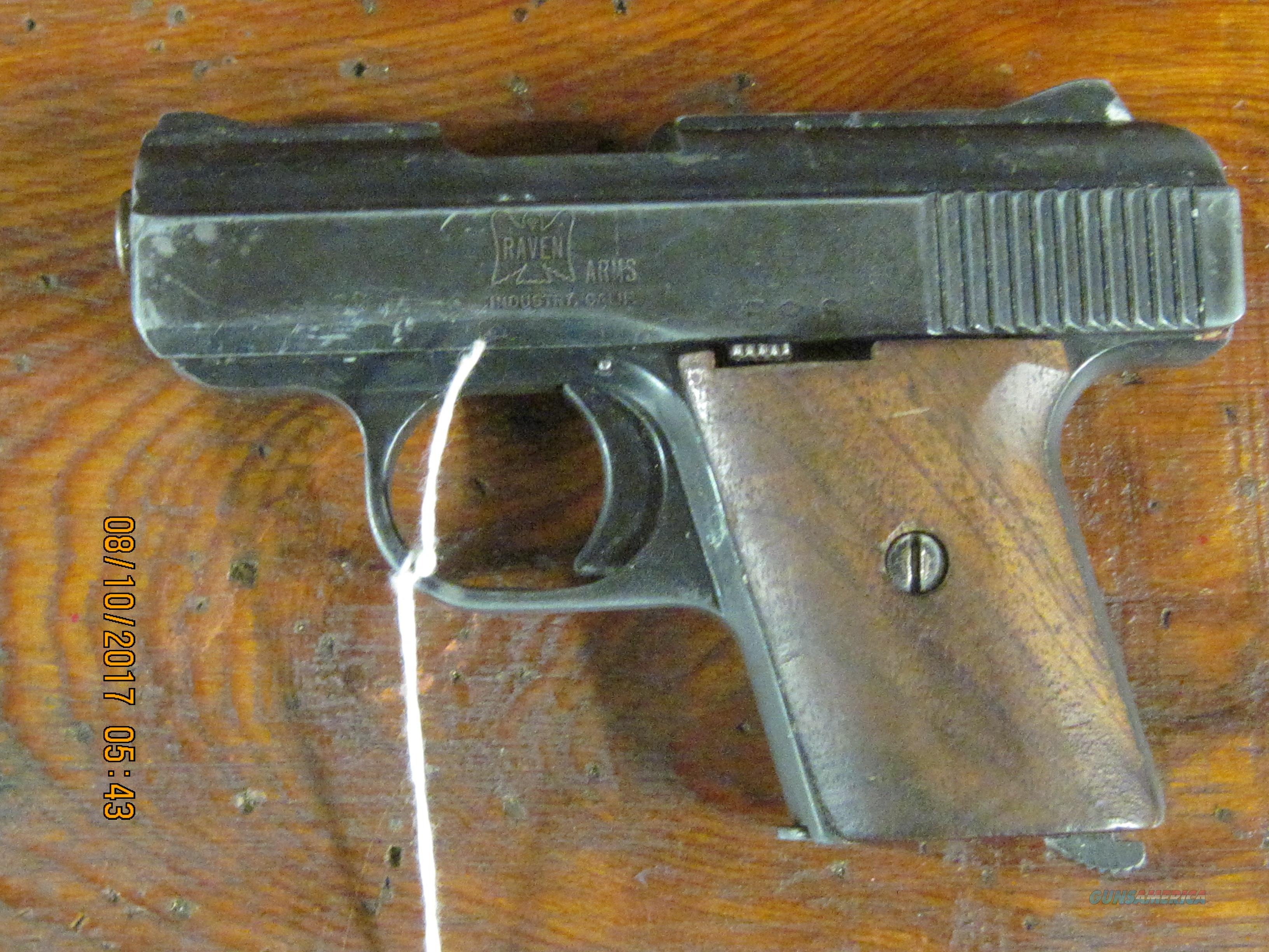 Raven Arms MP-25 semi auto  Guns > Pistols > R Misc Pistols