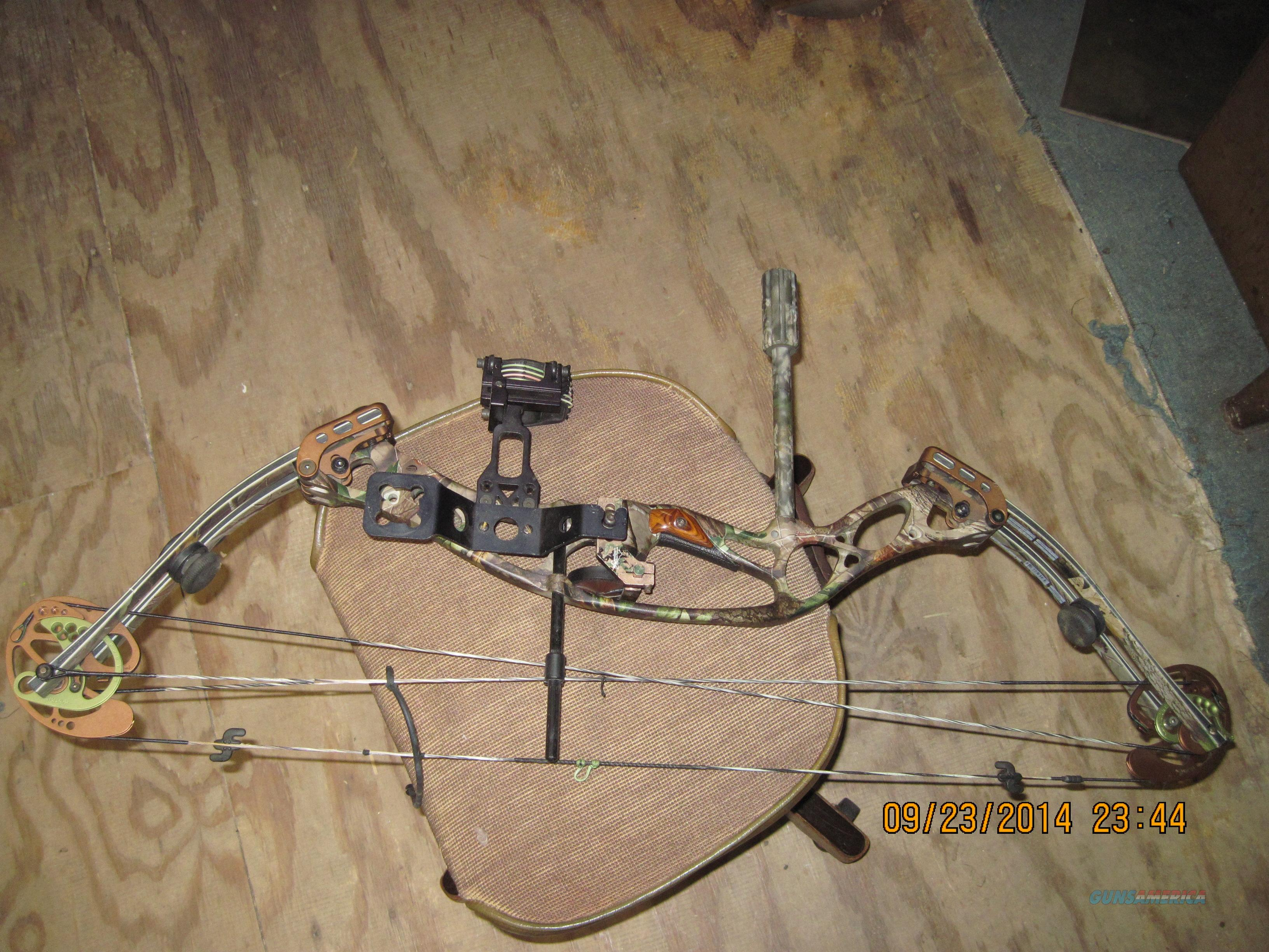 Hoyt X Tec 1000 Total Compound Bow Like New For Sale