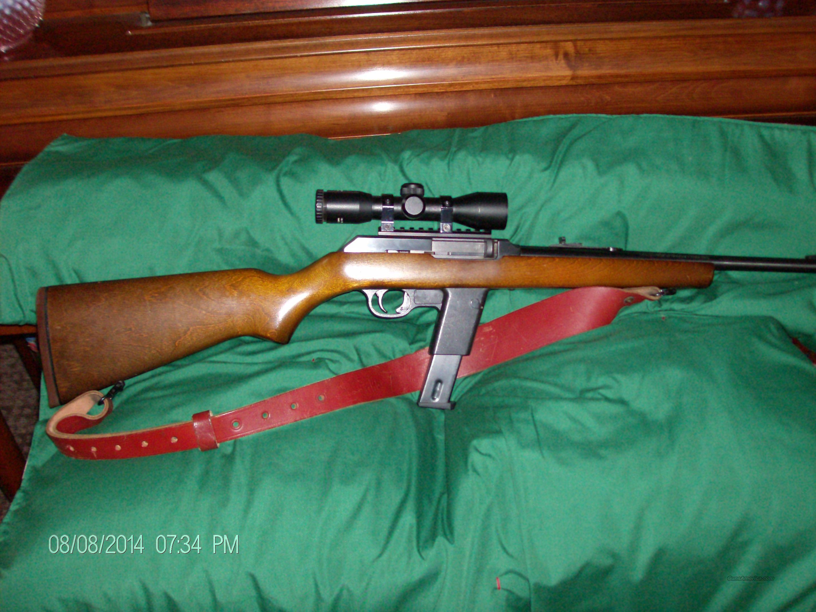 Marlin Model 9 9mm Camp Carbine  Guns > Rifles > Marlin Rifles > Modern > Semi-auto