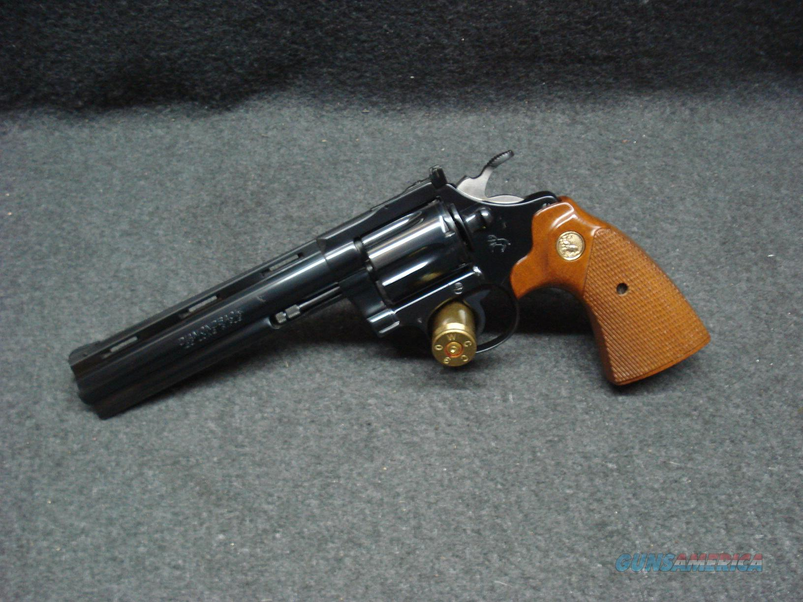 "COLT DIAMONDBACK 22LR 6"" BARREL LIKE NEW  Guns > Pistols > Colt Double Action Revolvers- Modern"