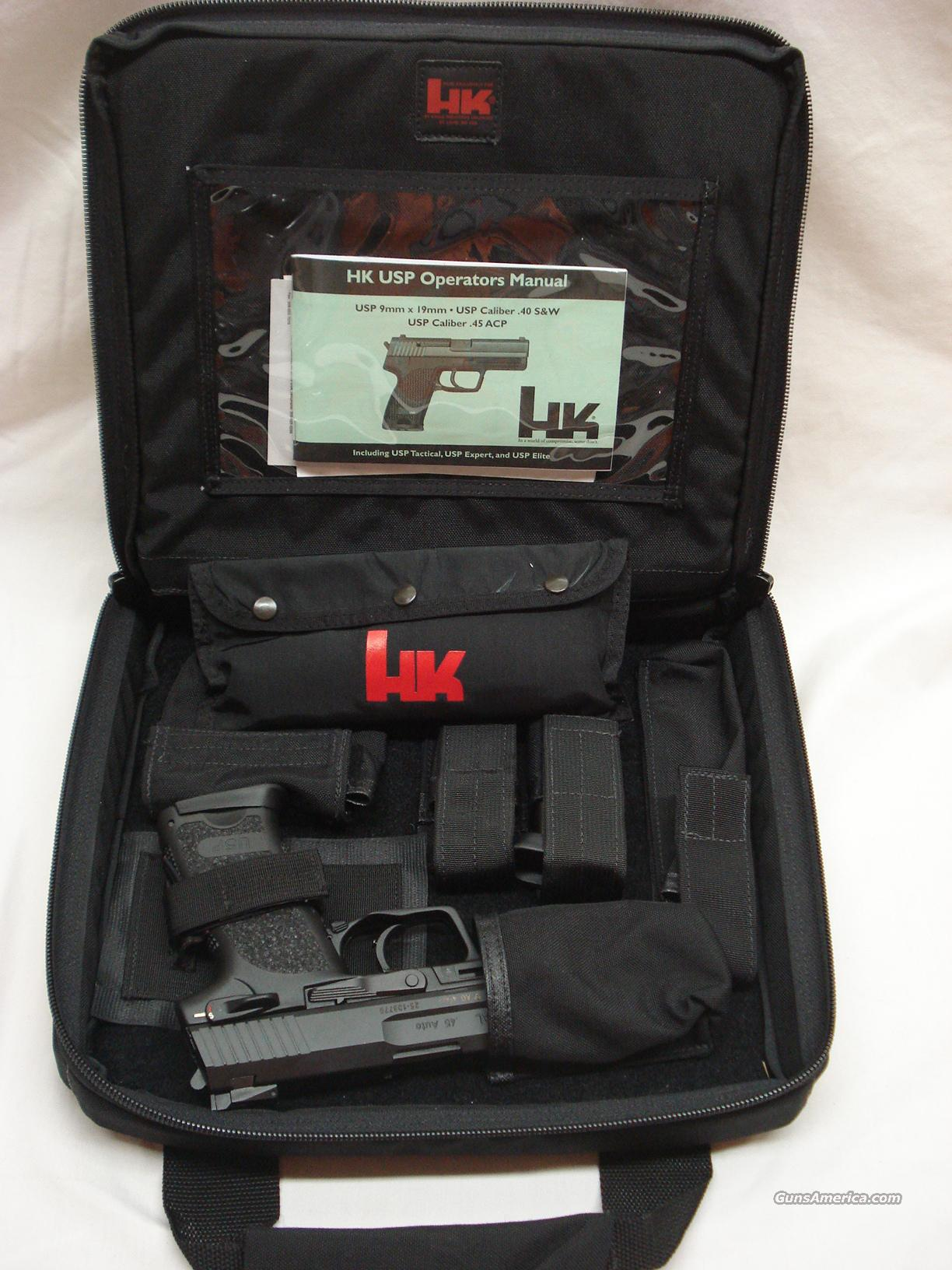 HECKLER AND KOCH USP SD 45ACP TACTICAL THREADED  Guns > Pistols > Heckler & Koch Pistols > Polymer Frame