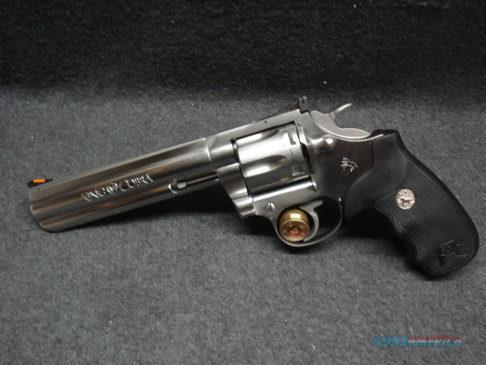"COLT KING COBRA ENHANCED 6"" BARREL  Guns > Pistols > Colt Double Action Revolvers- Modern"