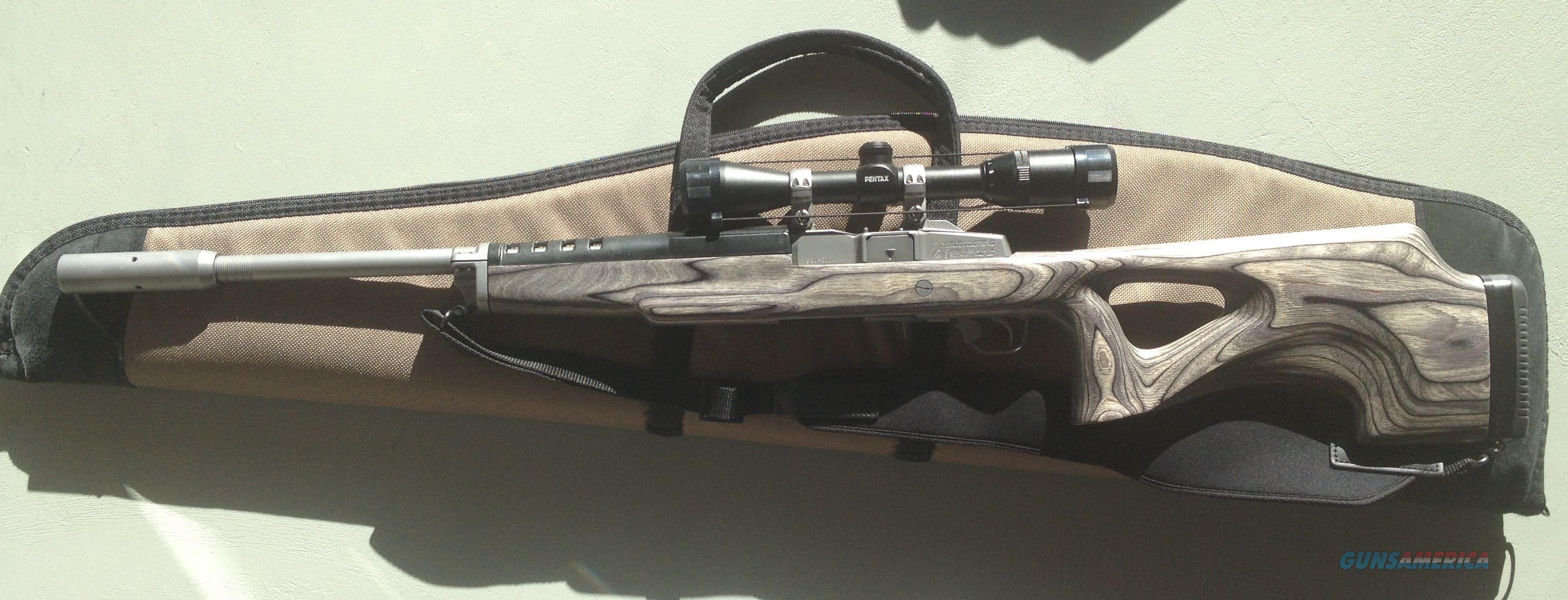 Ruger Mini-14 target 223 with Scope  Guns > Rifles > Ruger Rifles > Mini-14 Type