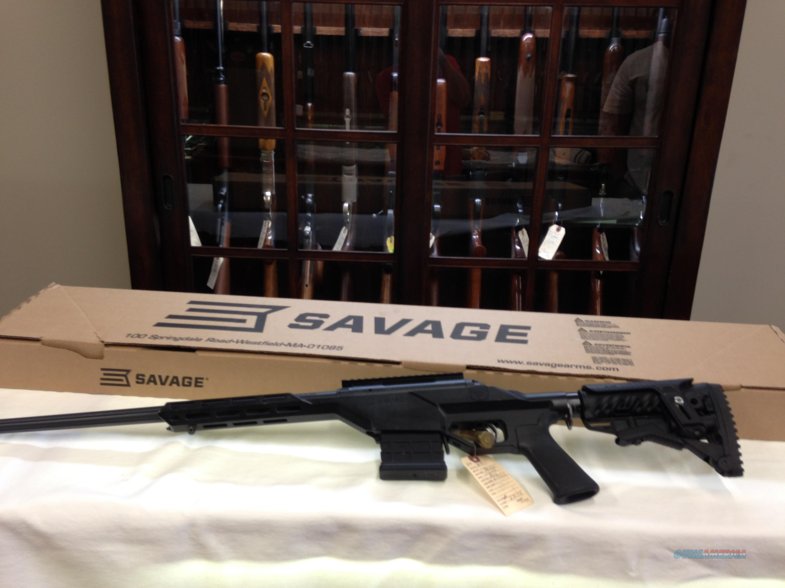 Savage model 10 BA STEALTH 308.  Guns > Rifles > Savage Rifles > Standard Bolt Action > Tactical