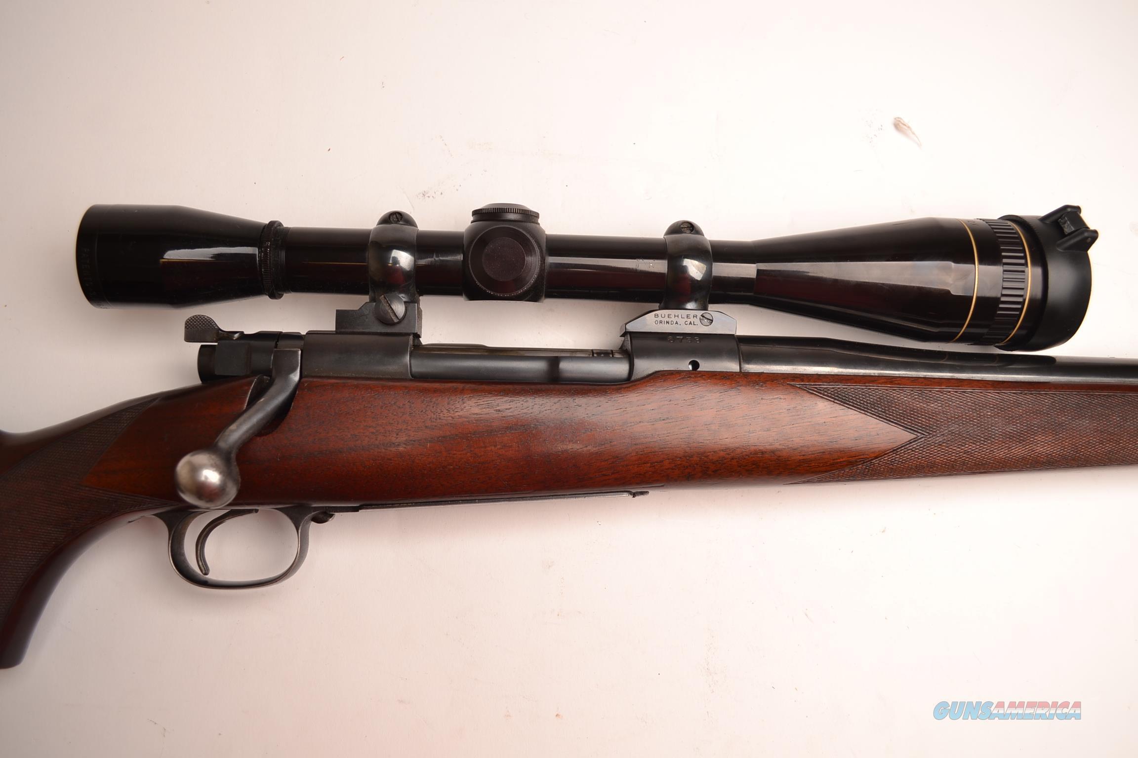 Winchester – Model 70 Custom  Guns > Rifles > Winchester Rifles - Modern Bolt/Auto/Single > Model 70 > Pre-64