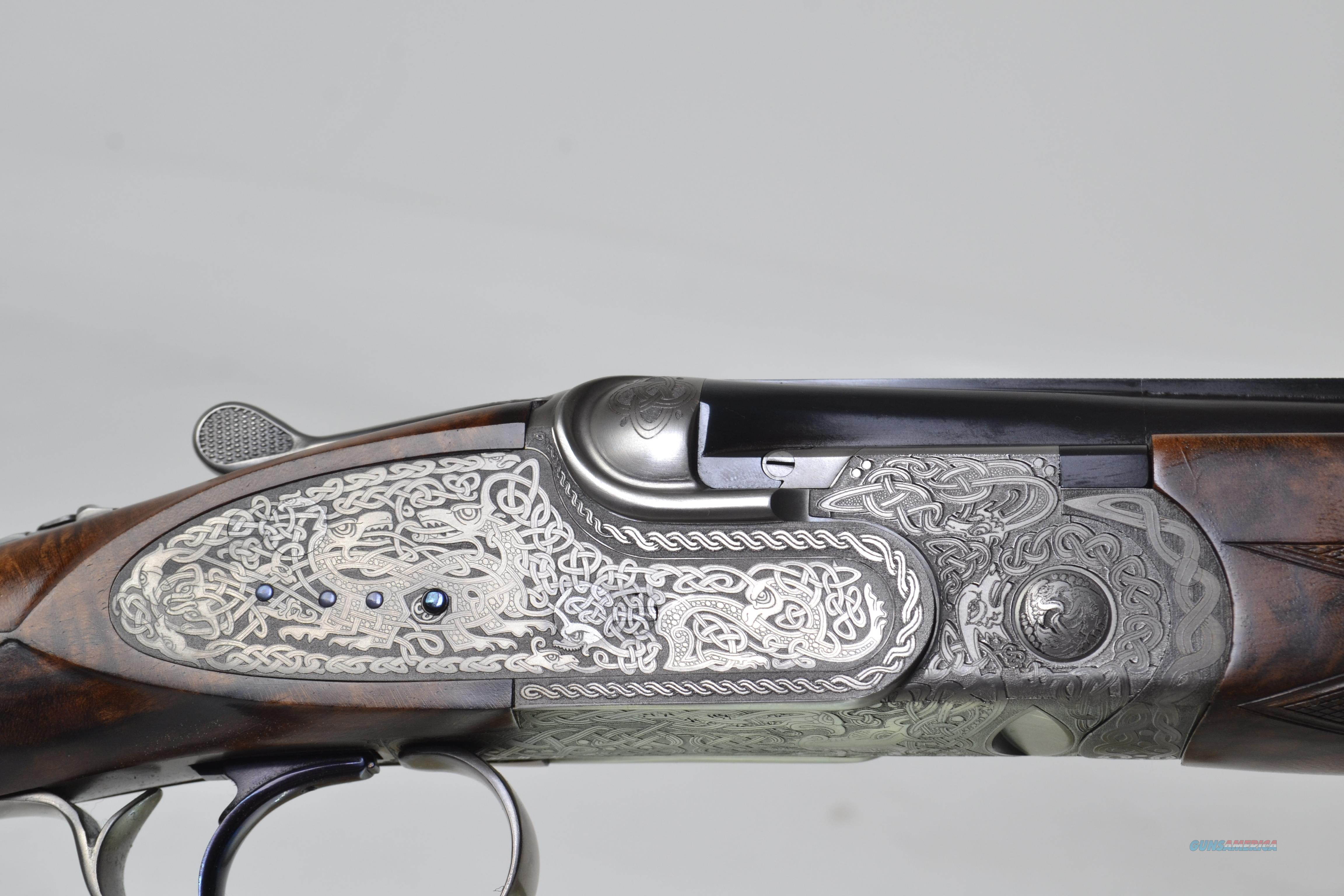 "CSMC - Christian Hunter, New Celtic Engraved, 20ga. 28"" Barrels with Screw in Choke Tubes  Guns > Shotguns > Connecticut (Galazan) Shotguns"