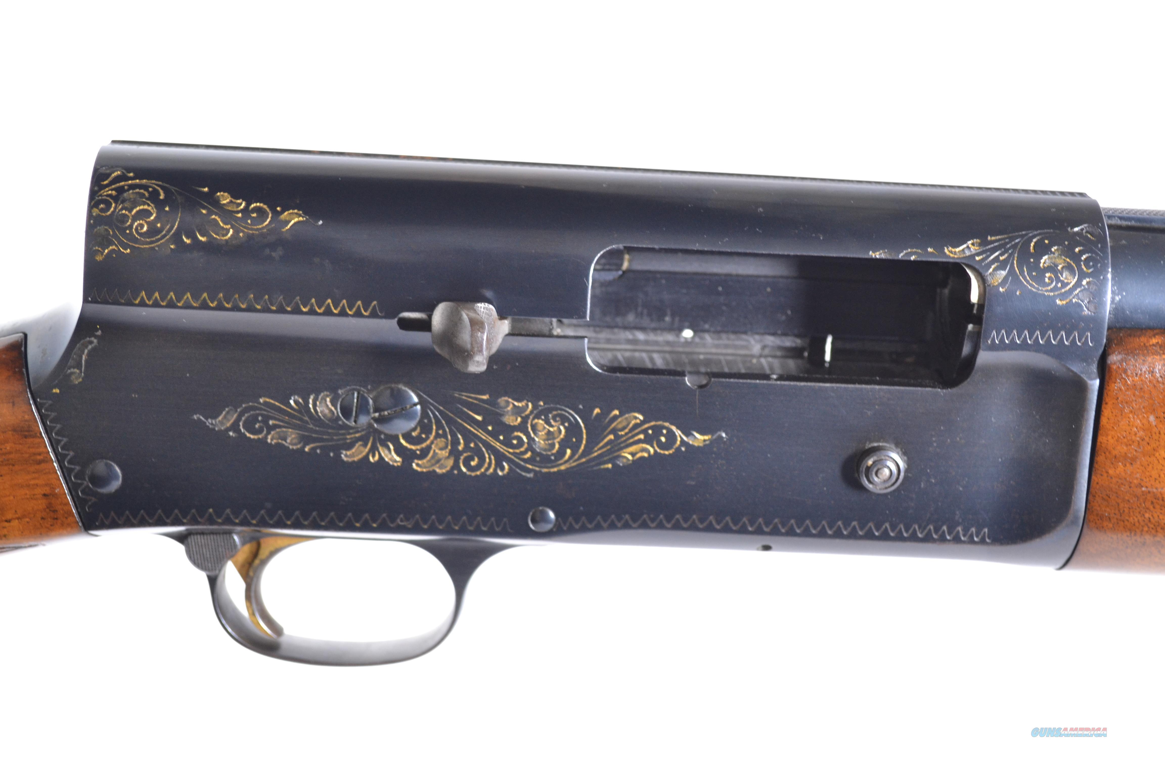 "Browning - A5, Light 12, 12ga. 29 ½"" vent rib barrel choked full  Guns > Shotguns > Browning Shotguns > Single Barrel"