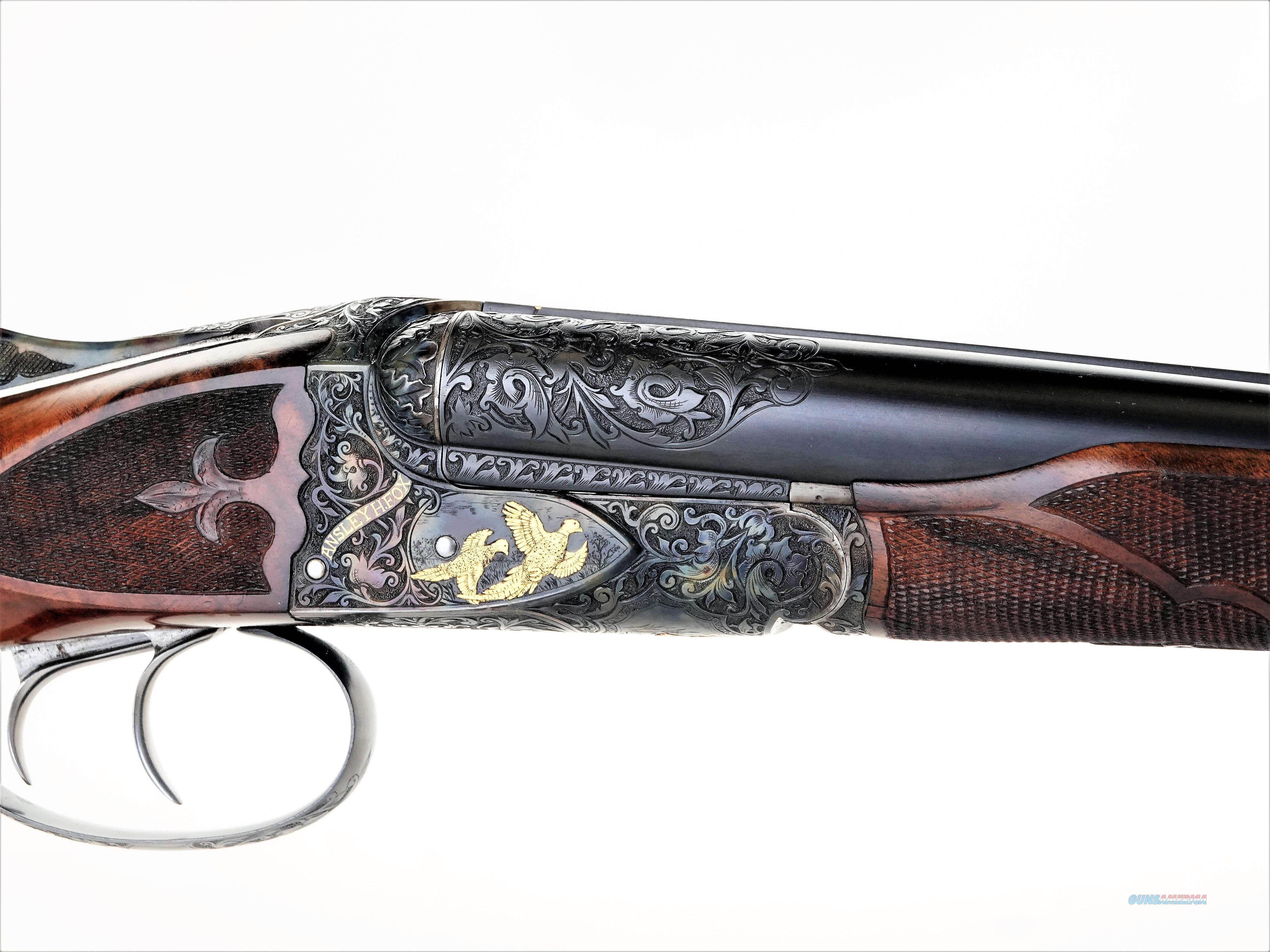 """A.H Fox - DE Special, 28ga. 26"""" barrels choked SK/IC  Guns > Shotguns > Fox Shotguns"""
