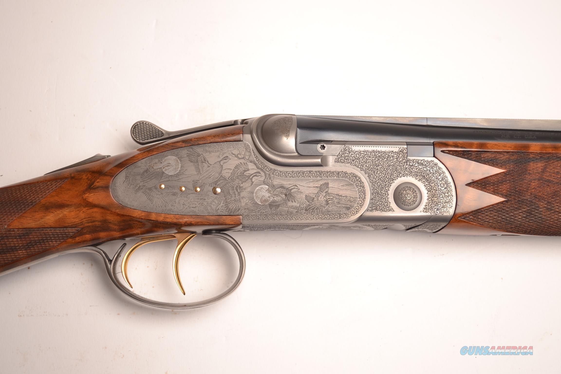 CSMC - A10 Platinum with Quail Engraving Pattern, 28ga.  Guns > Shotguns > Connecticut (Galazan) Shotguns