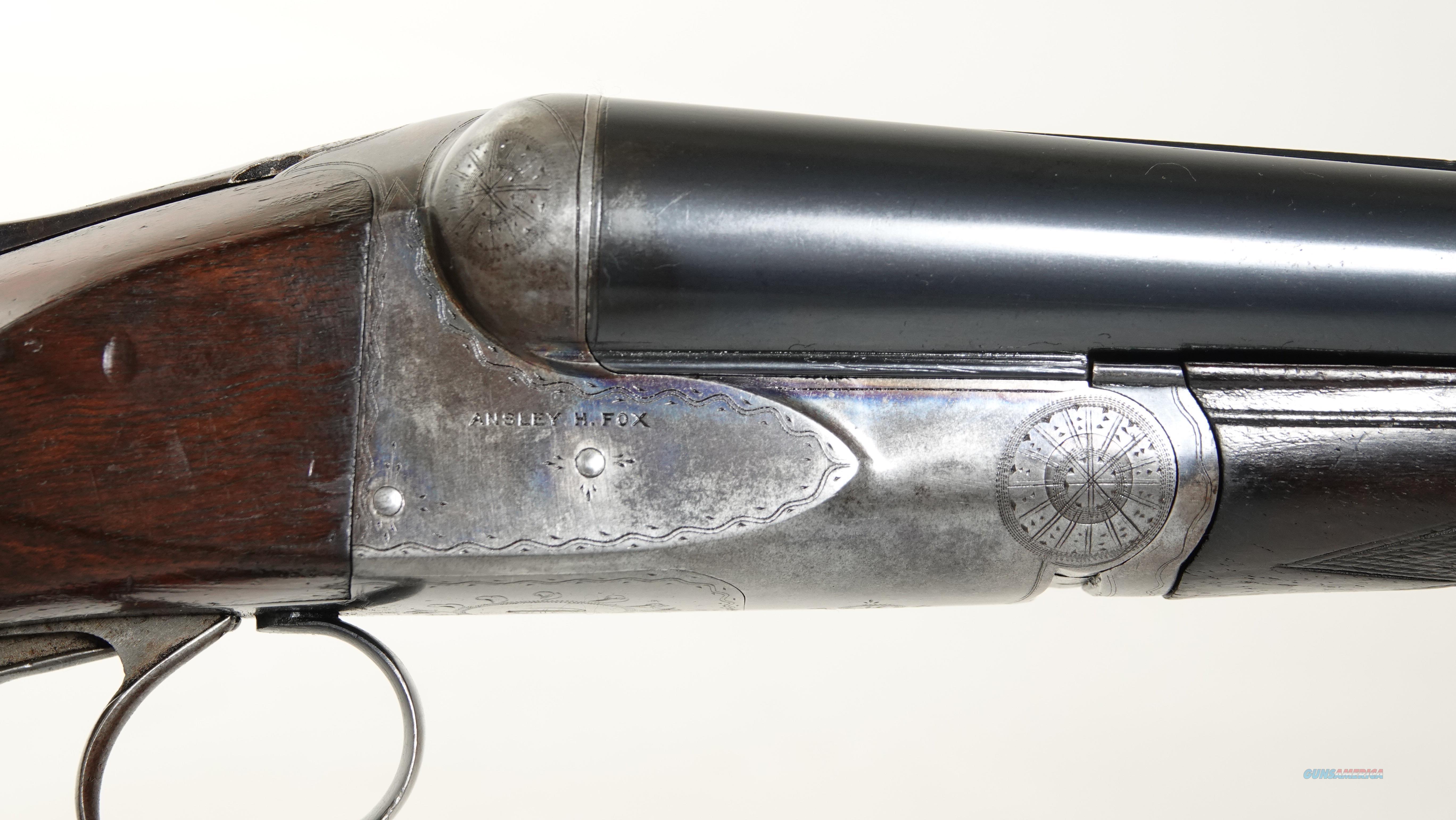 """A.H. Fox - AE, 12ga. 30"""" barrels choked F/F  Guns > Shotguns > Fox Shotguns"""