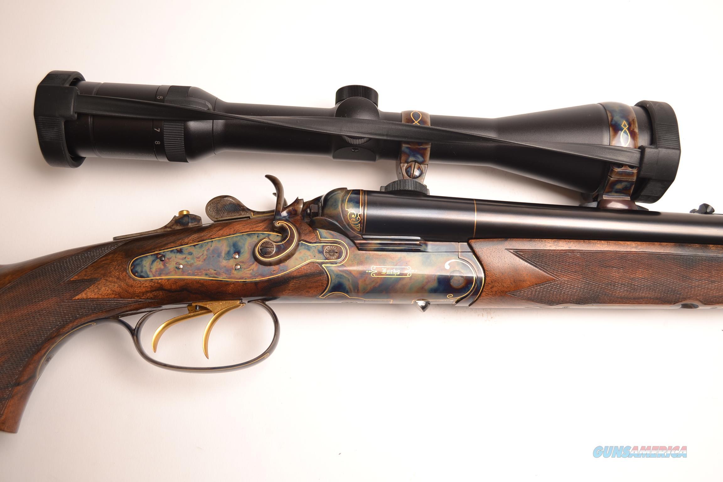 Fuchs - Drilling Hammer Back Action, 16ga   Guns > Shotguns > F Misc Shotguns