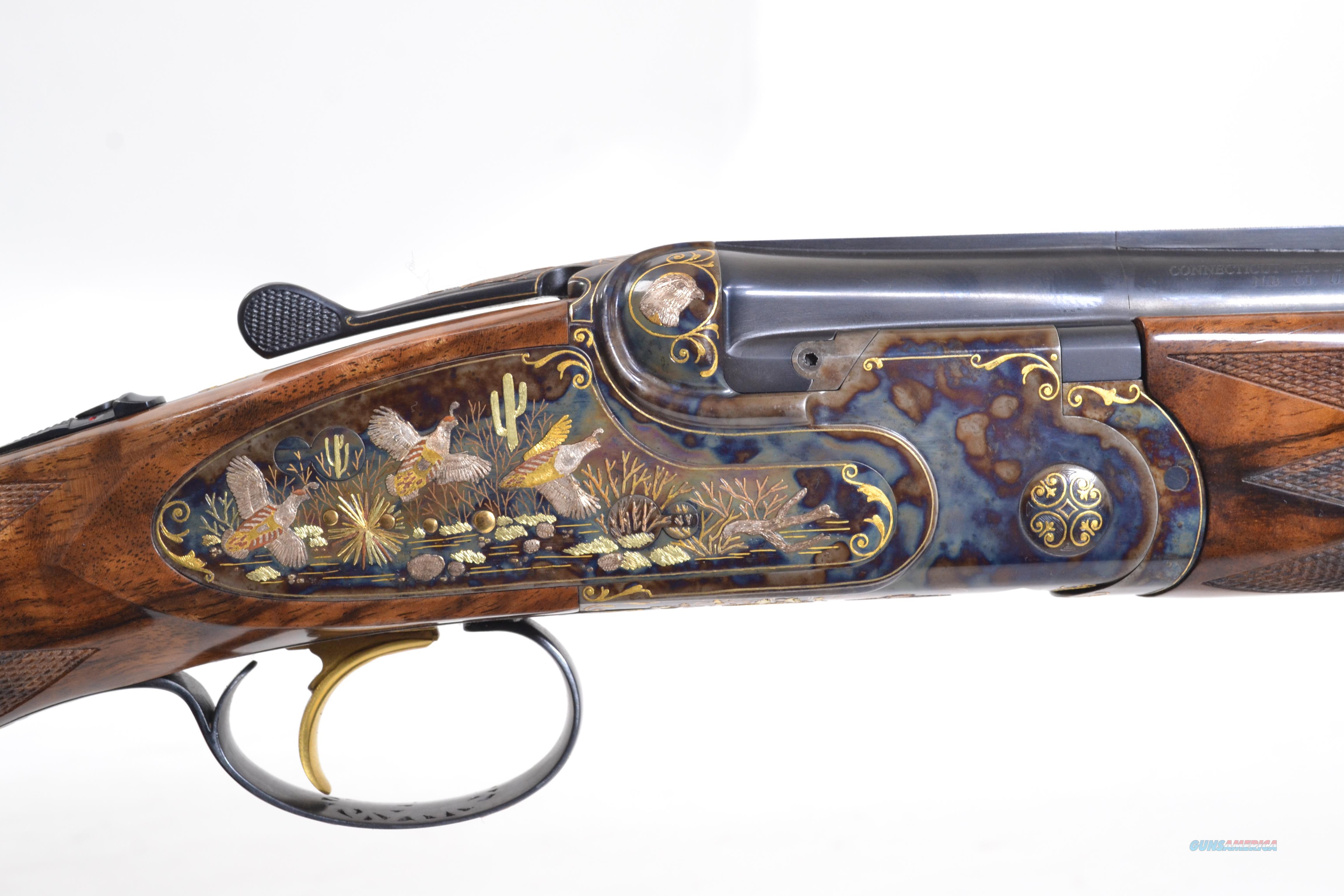 A10 - Gallery, Two Barrel Set, 12ga./20ga.  Guns > Shotguns > Connecticut (Galazan) Shotguns