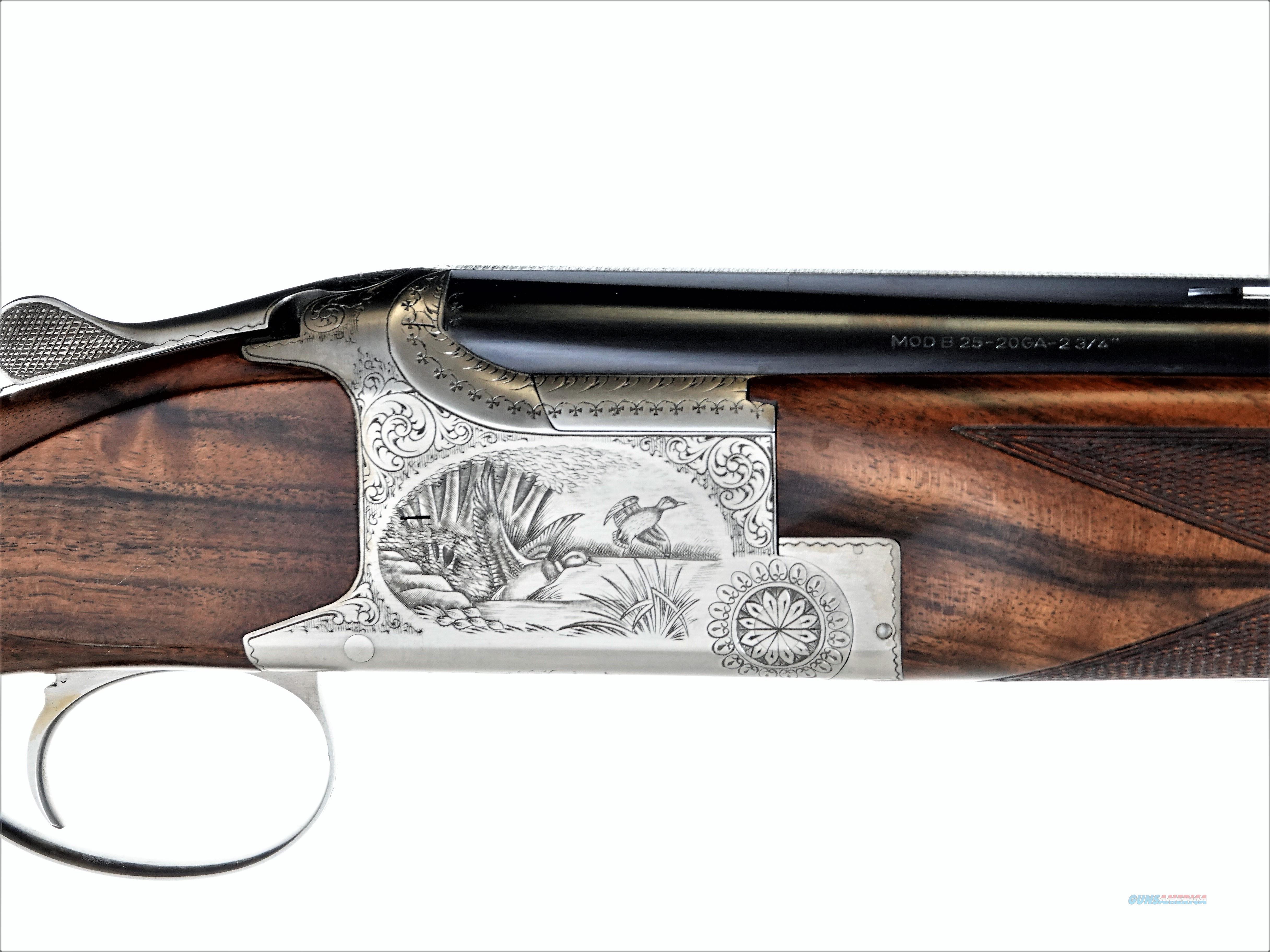 """Browning - B25 B2G, 20ga. 30"""" IC/M  Guns > Shotguns > Browning Shotguns > Over Unders > Belgian Manufacture"""