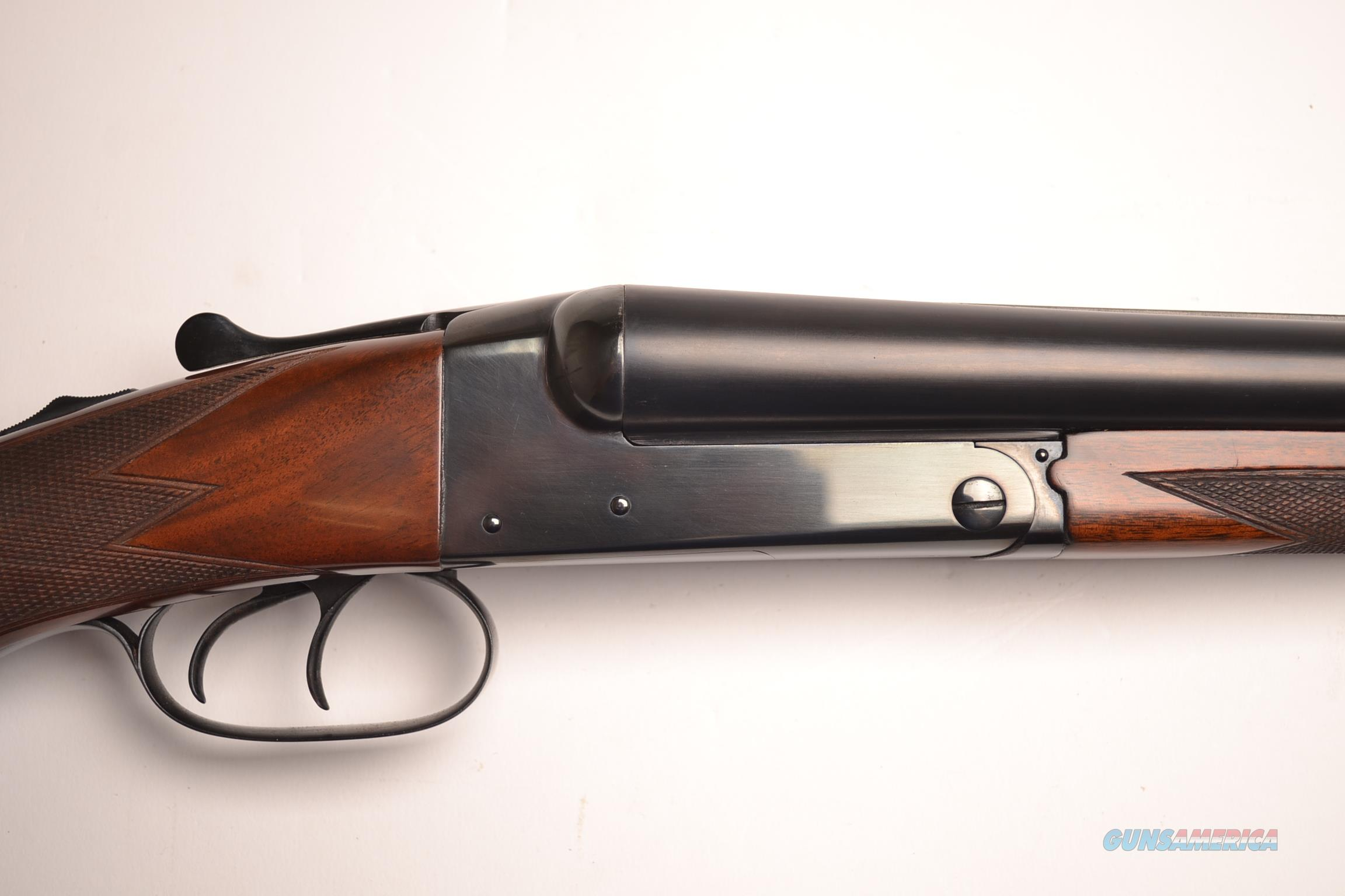 Winchester - Model 21, Round frame custom, Special Order Gun 12ga.  Guns > Shotguns > Winchester Shotguns - Modern > SxS