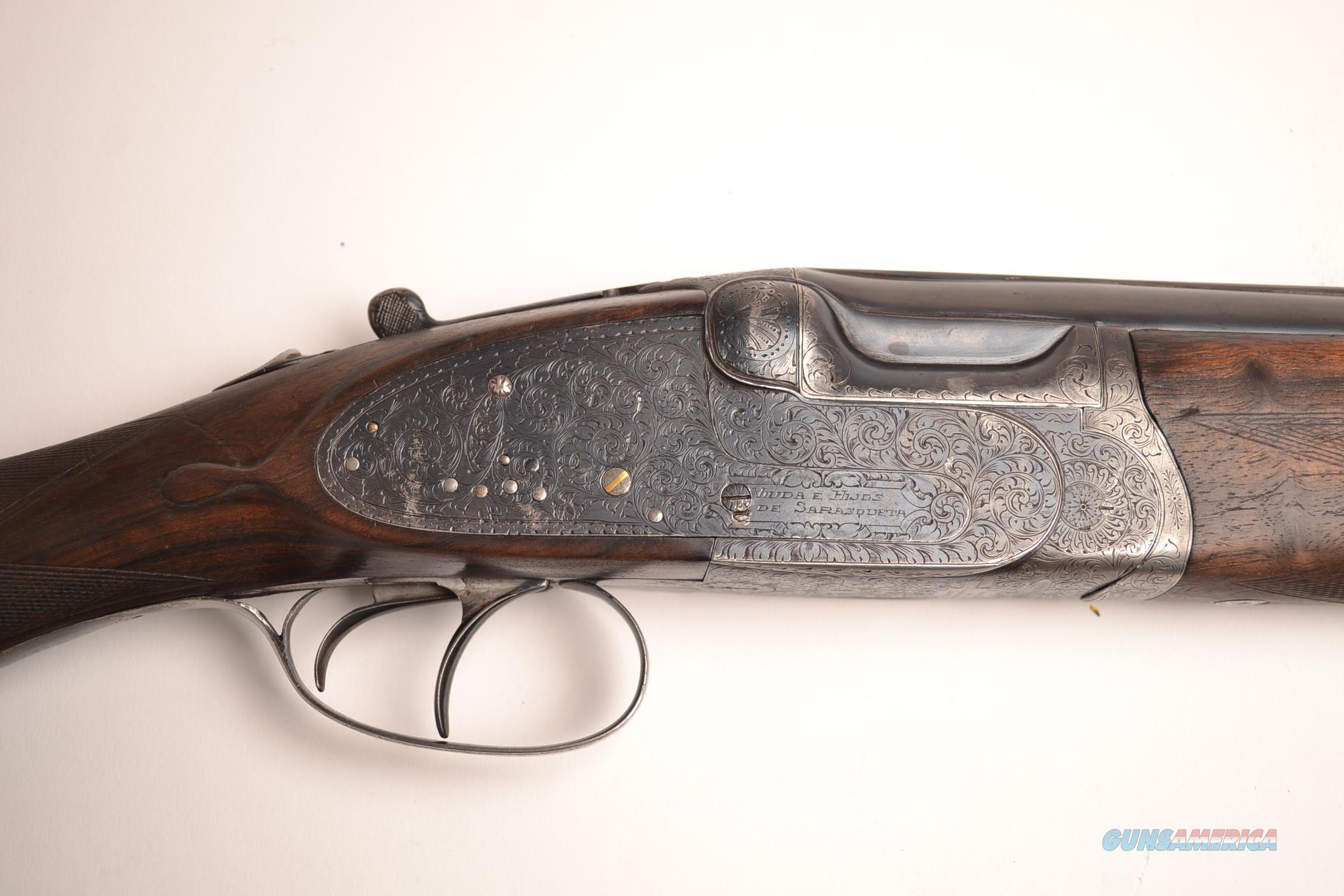 Victor Sarasqueta - O/U  Guns > Shotguns > V Misc Shotguns