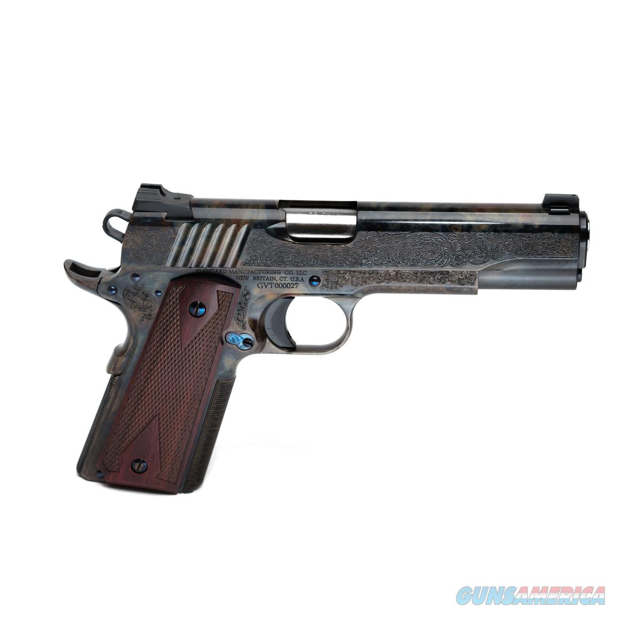Standard Manufacturing 1911 Case Colored #1 Engraved  Guns > Pistols > 1911 Pistol Copies (non-Colt)