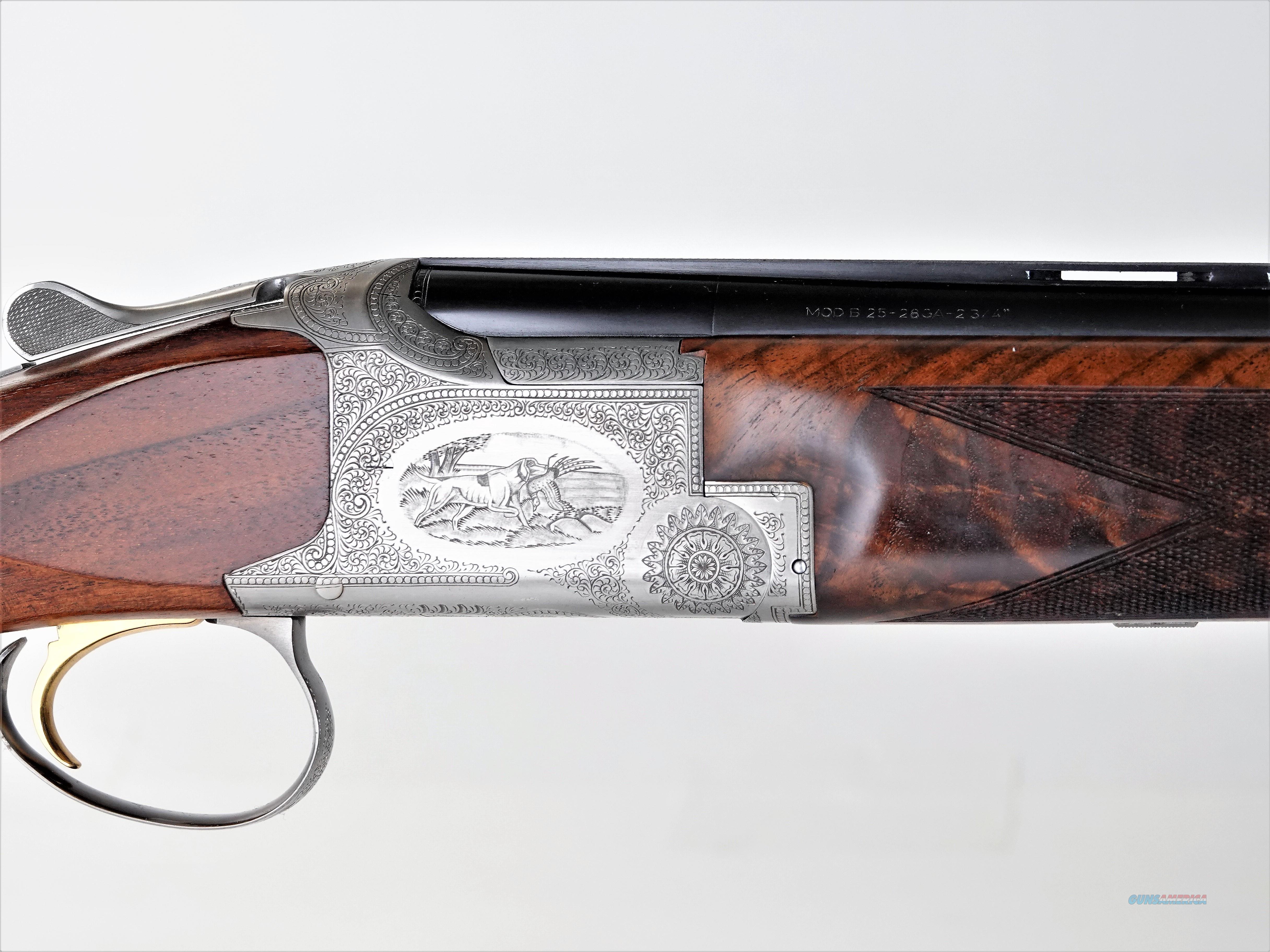 """Browning - Pointer, 28ga. 29 1/2"""" barrels, IM/M choked  Guns > Shotguns > Browning Shotguns > Over Unders > Belgian Manufacture"""