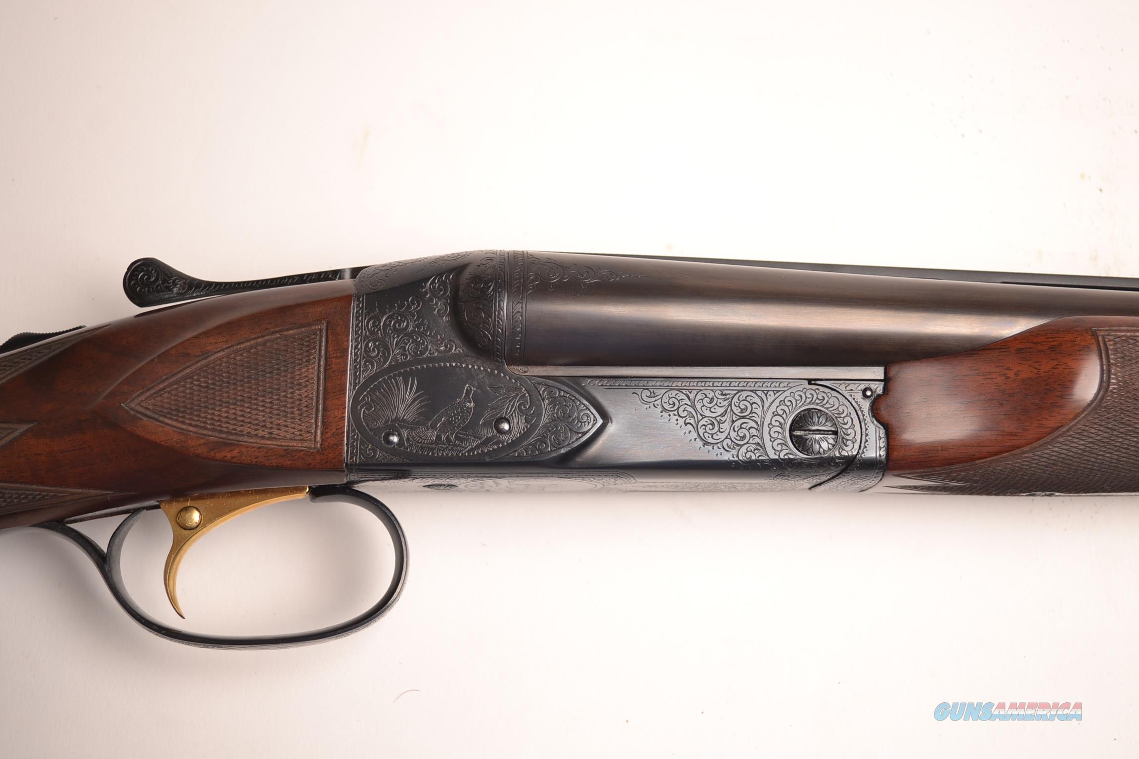 Winchester - Model 21, #5 engraving, 16ga.  Guns > Shotguns > Winchester Shotguns - Modern > SxS