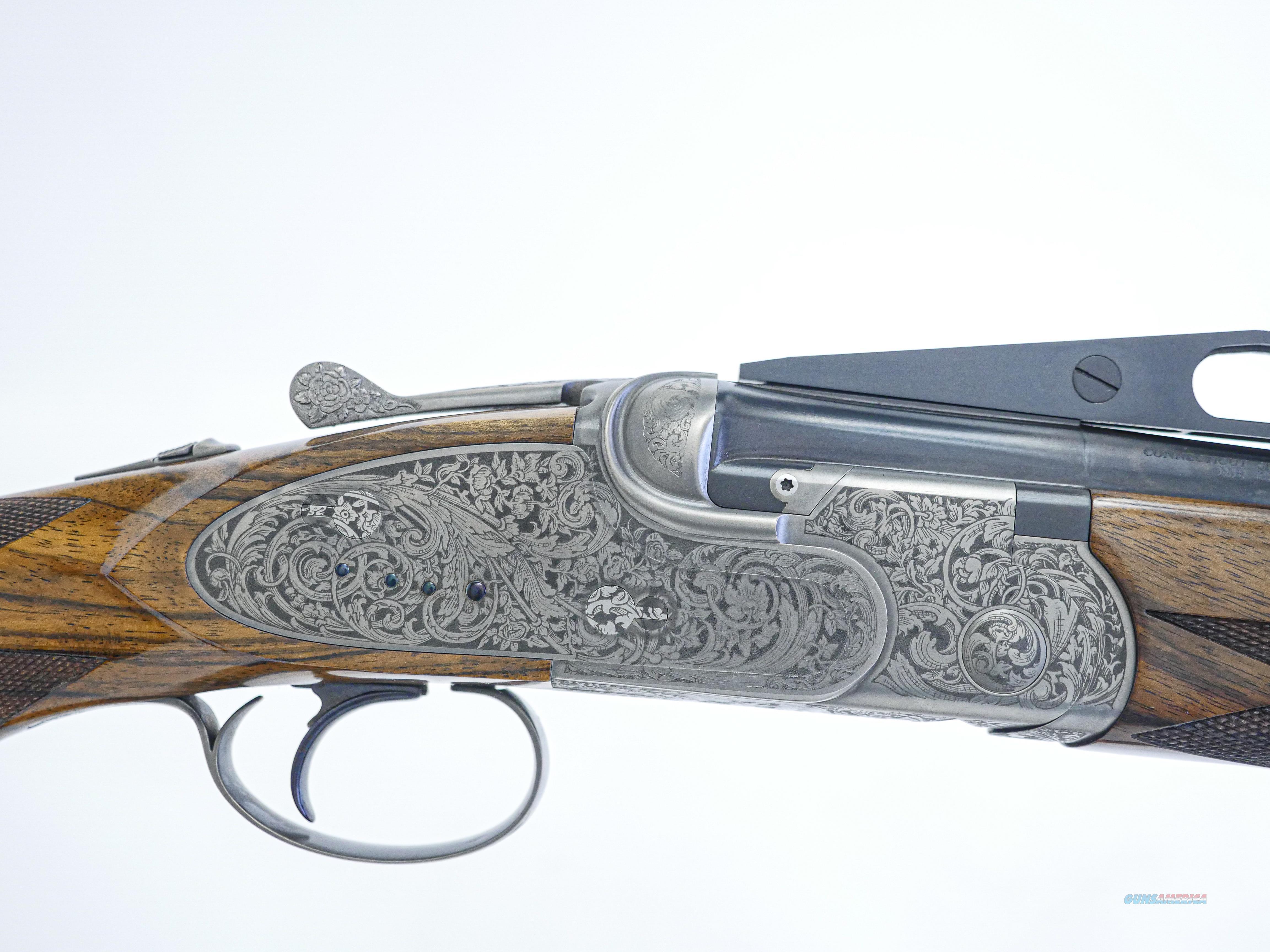 """CSMC - A10, Platinum Ornamental, Sporting Clays, 12ga. 30"""" Barrels.  Guns > Shotguns > Connecticut (Galazan) Shotguns"""