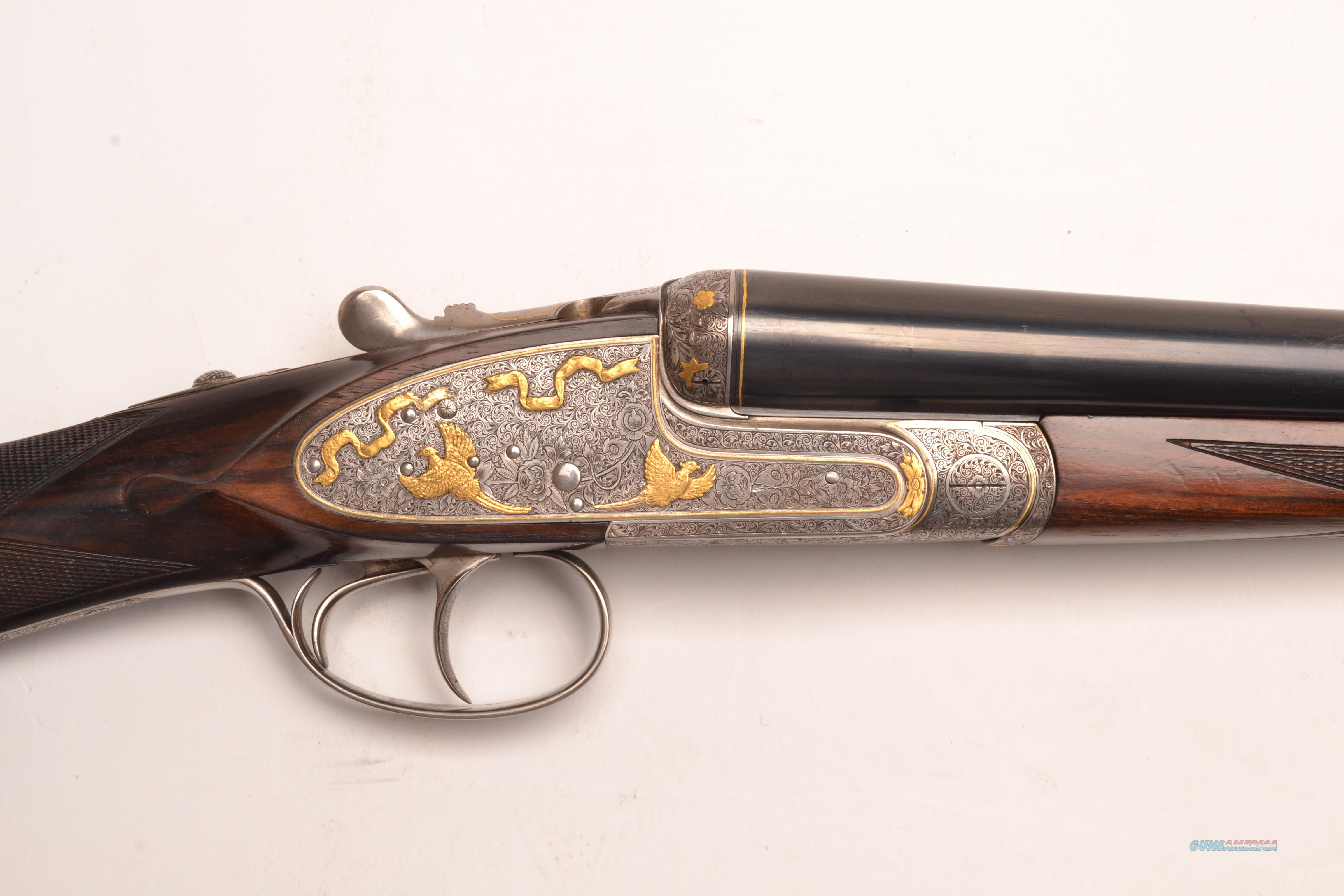 Arietta - 875, Matched Custom Pair, 12ga  Guns > Shotguns > Arrieta Shotguns