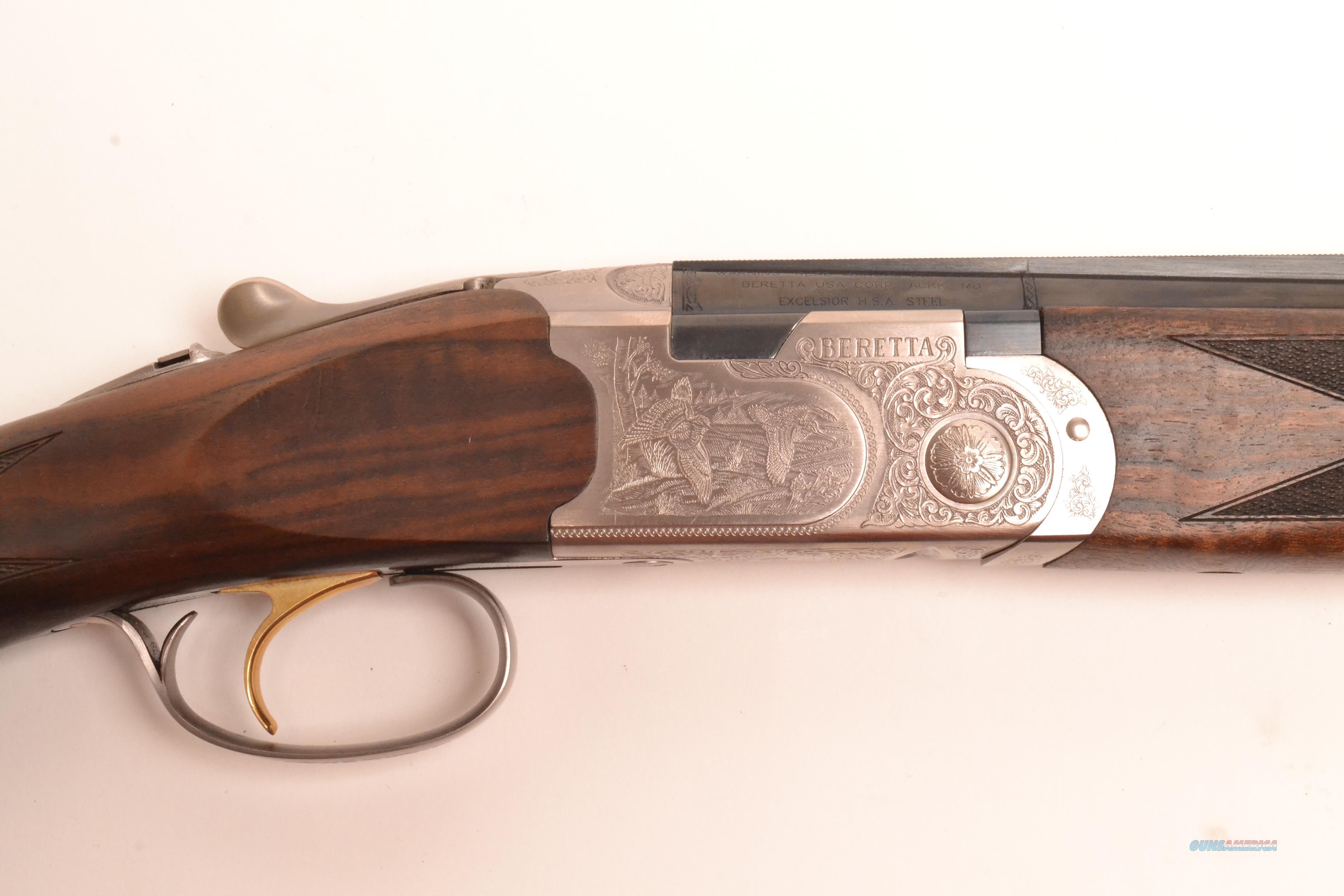 Beretta - 687 Silver Pigeon III, Two Barrel Set, 28ga/.410ga  Guns > Shotguns > Beretta Shotguns > O/U > Hunting