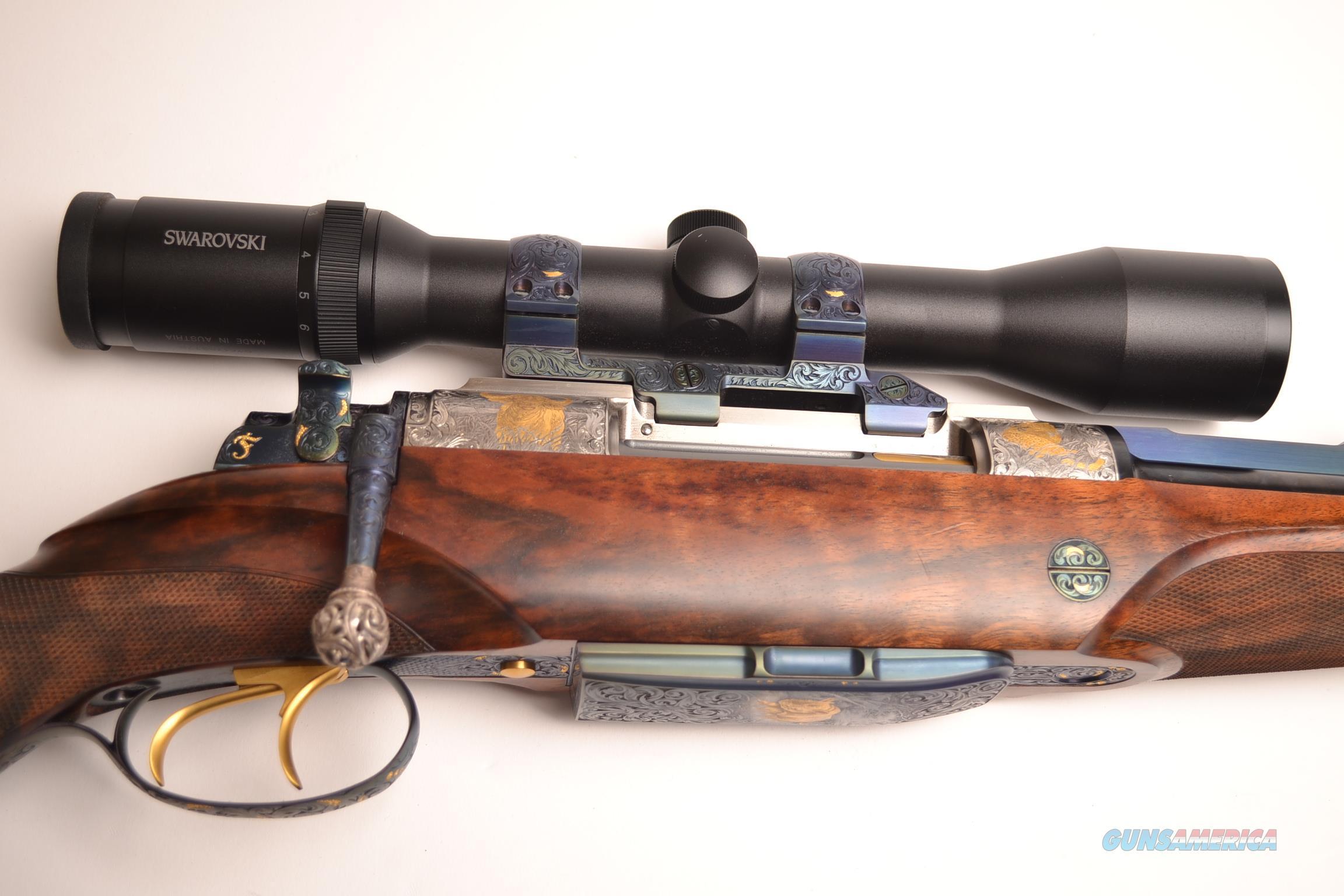 Fuchs - Bolt Action Double Rifle, .416 Rem.  Guns > Rifles > F Misc Rifles