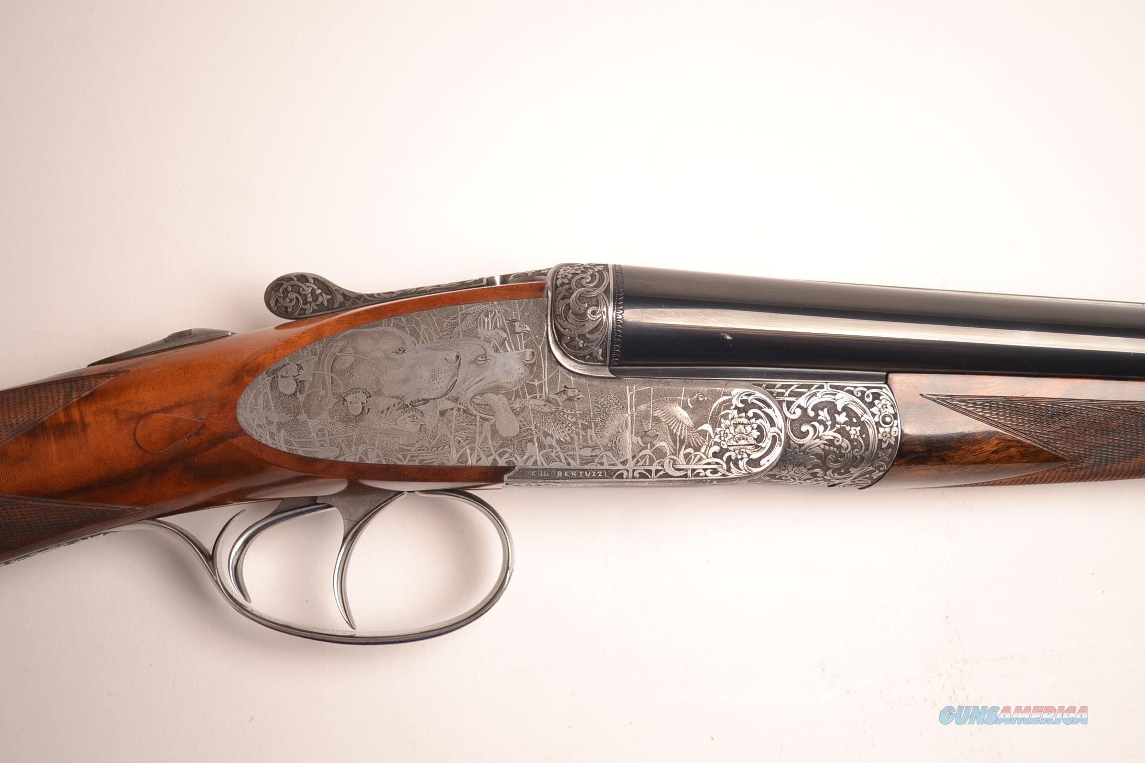 F. lli Bertuzzi – Gullwing SxS  Guns > Shotguns > B Misc Shotguns
