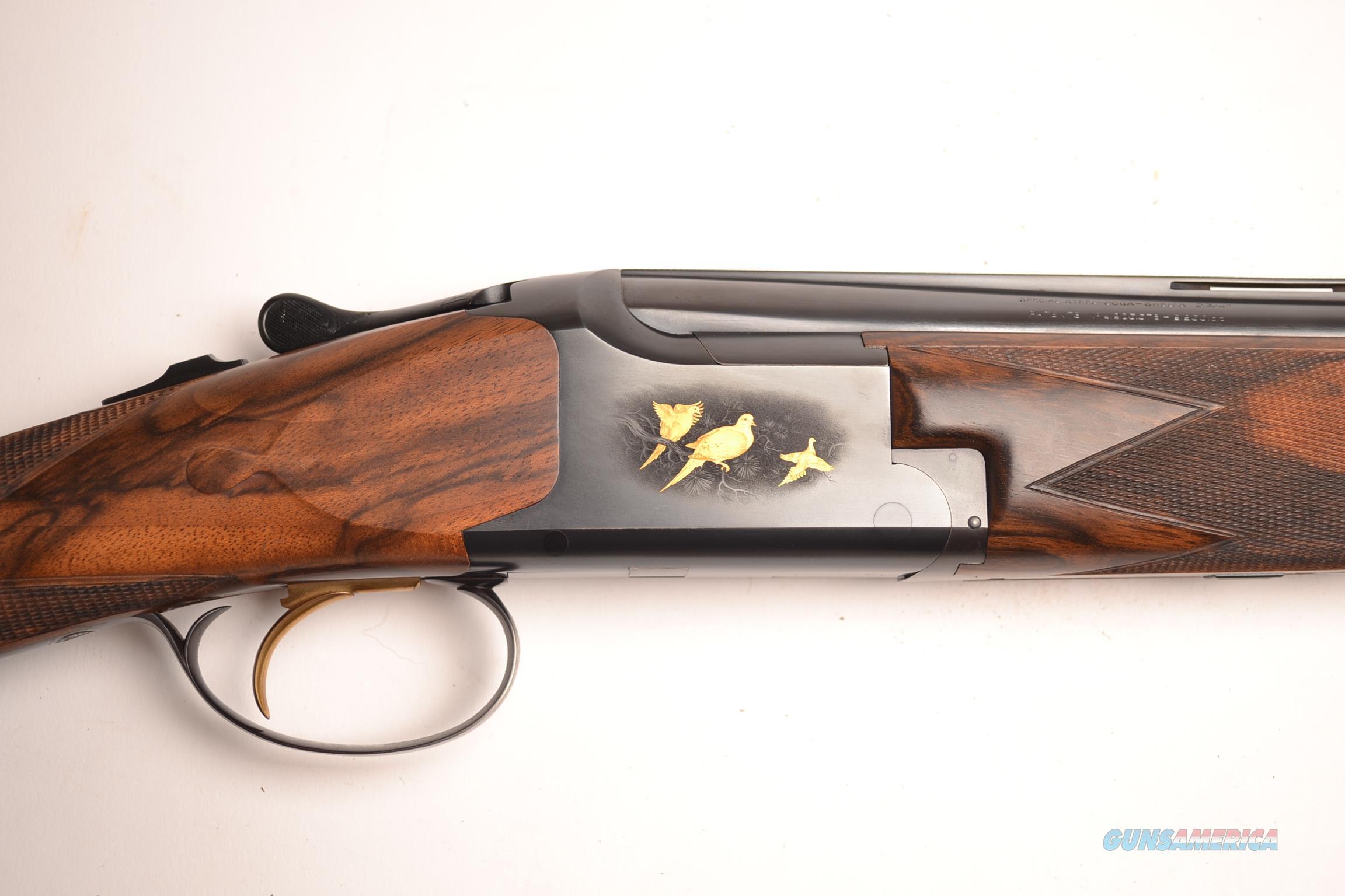 Browning - Churchill Engraved Superlight  Guns > Shotguns > Browning Shotguns > Over Unders > Belgian Manufacture