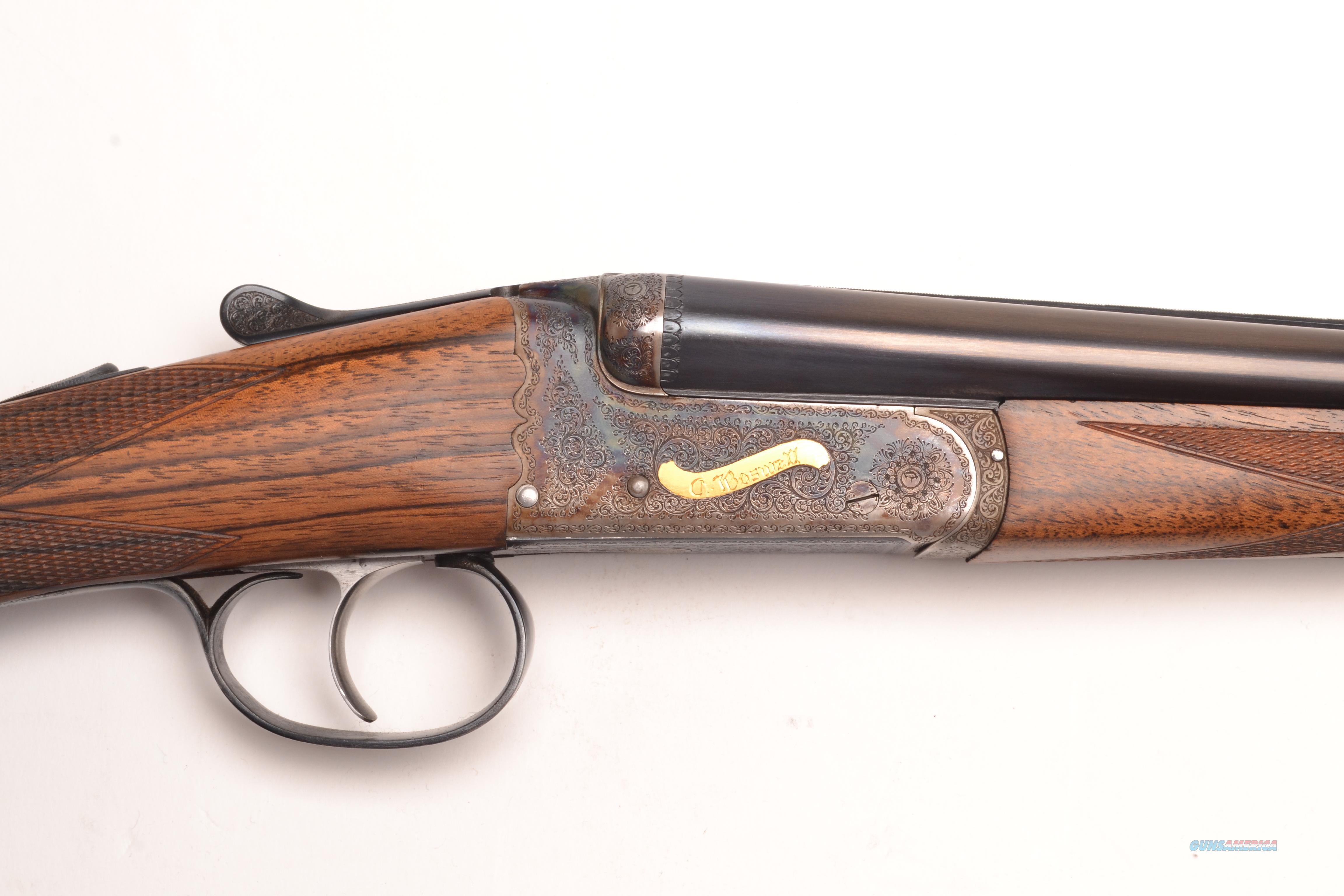 Charles Boswell, Boxlock SxS, .410ga  Guns > Shotguns > C Misc Shotguns