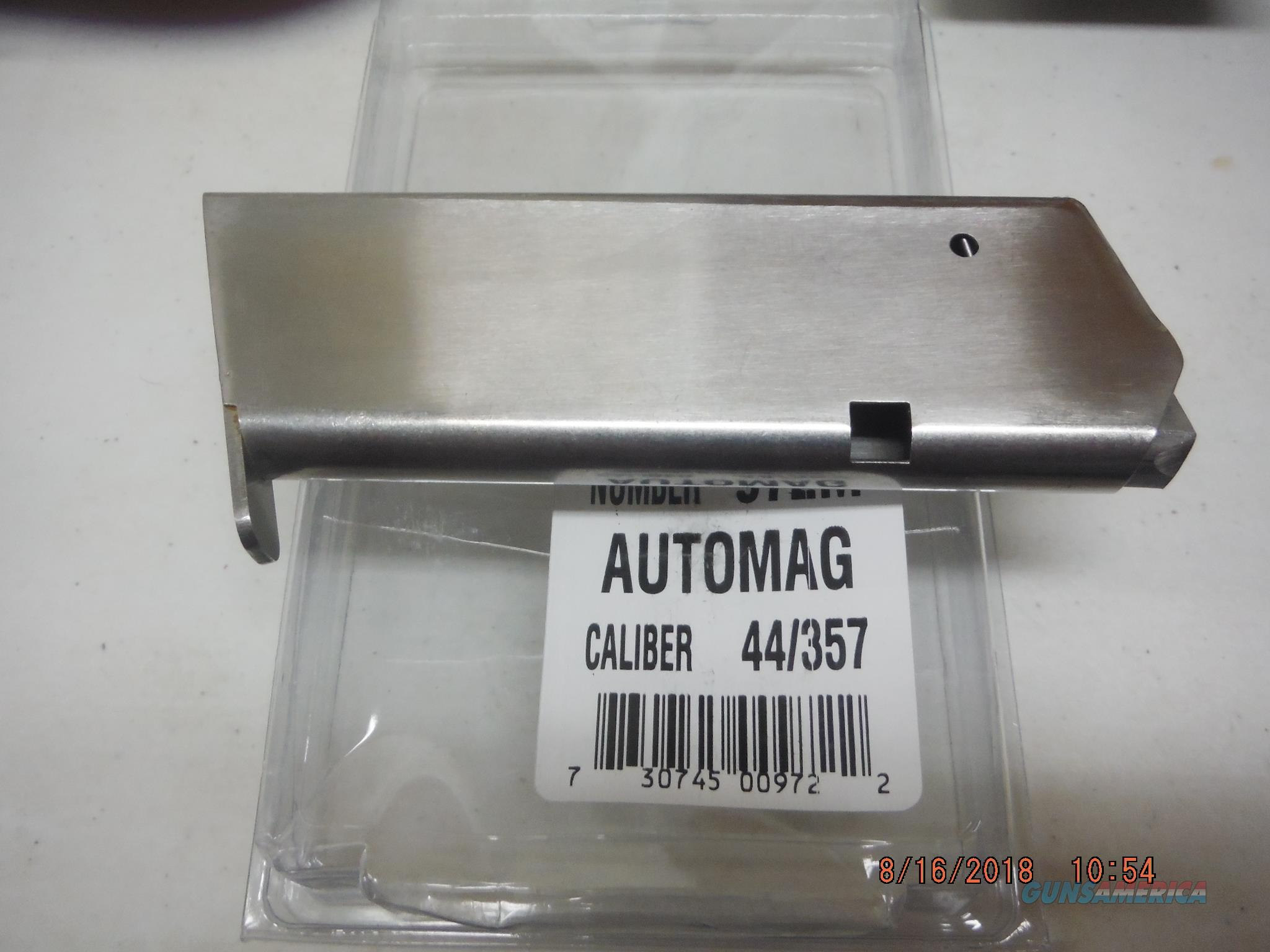 AUTOMAG 44 357 Stainless 7RD NEW MAGAZINE  Non-Guns > Magazines & Clips > Pistol Magazines > Other