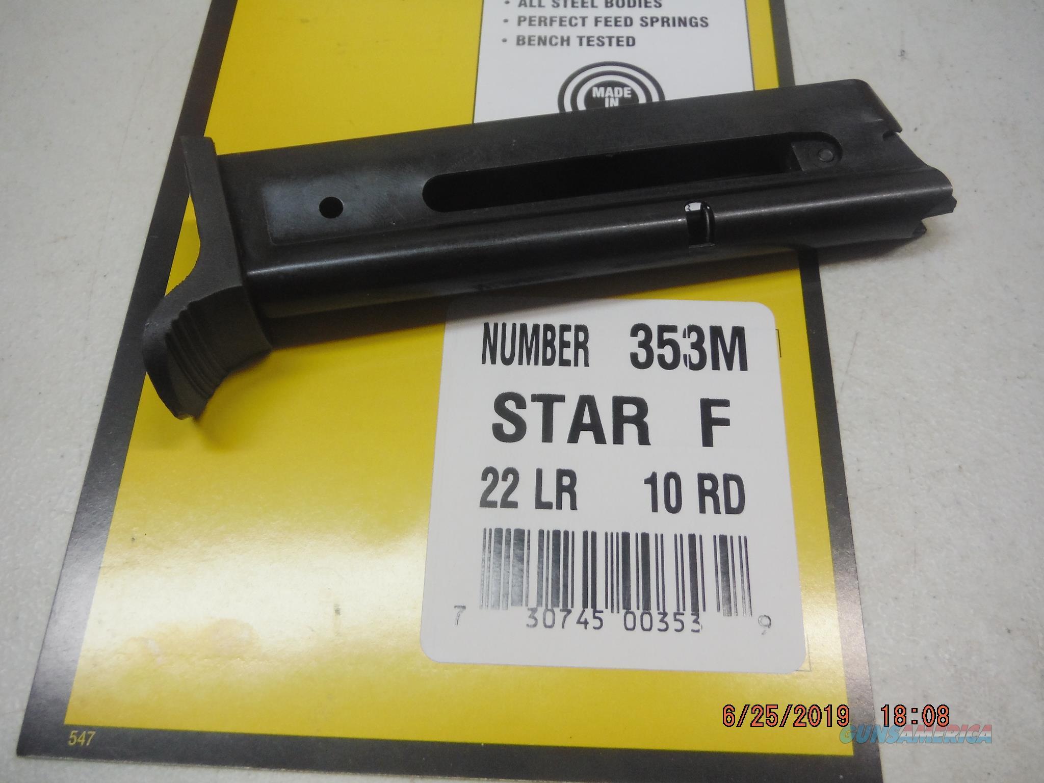 STAR 22 Magazine model F 22LR 10RD MAG  Non-Guns > Magazines & Clips > Pistol Magazines > Other