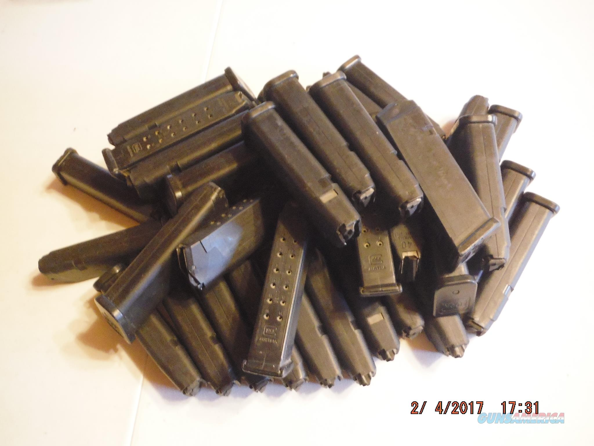 Glock 22/35 Magazine 40 S&W 15Rd GEN3 OEM LE marked -SALE-  Non-Guns > Magazines & Clips > Pistol Magazines > Glock