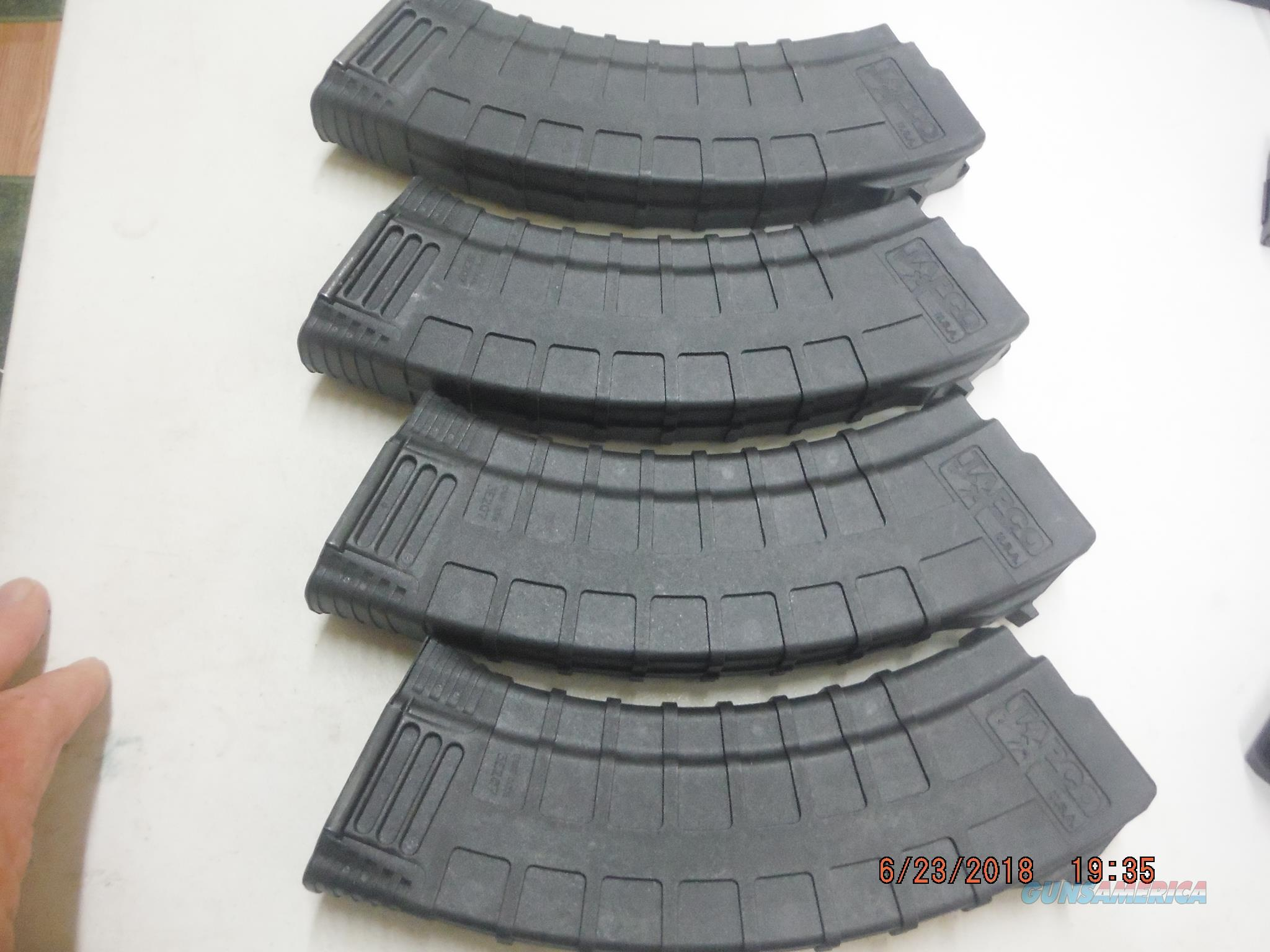 4 Tapco AK-47 / AK47 Magazine 7.62X39 30rd poly Mags AK47 New,  Non-Guns > Magazines & Clips > Rifle Magazines > AK Family