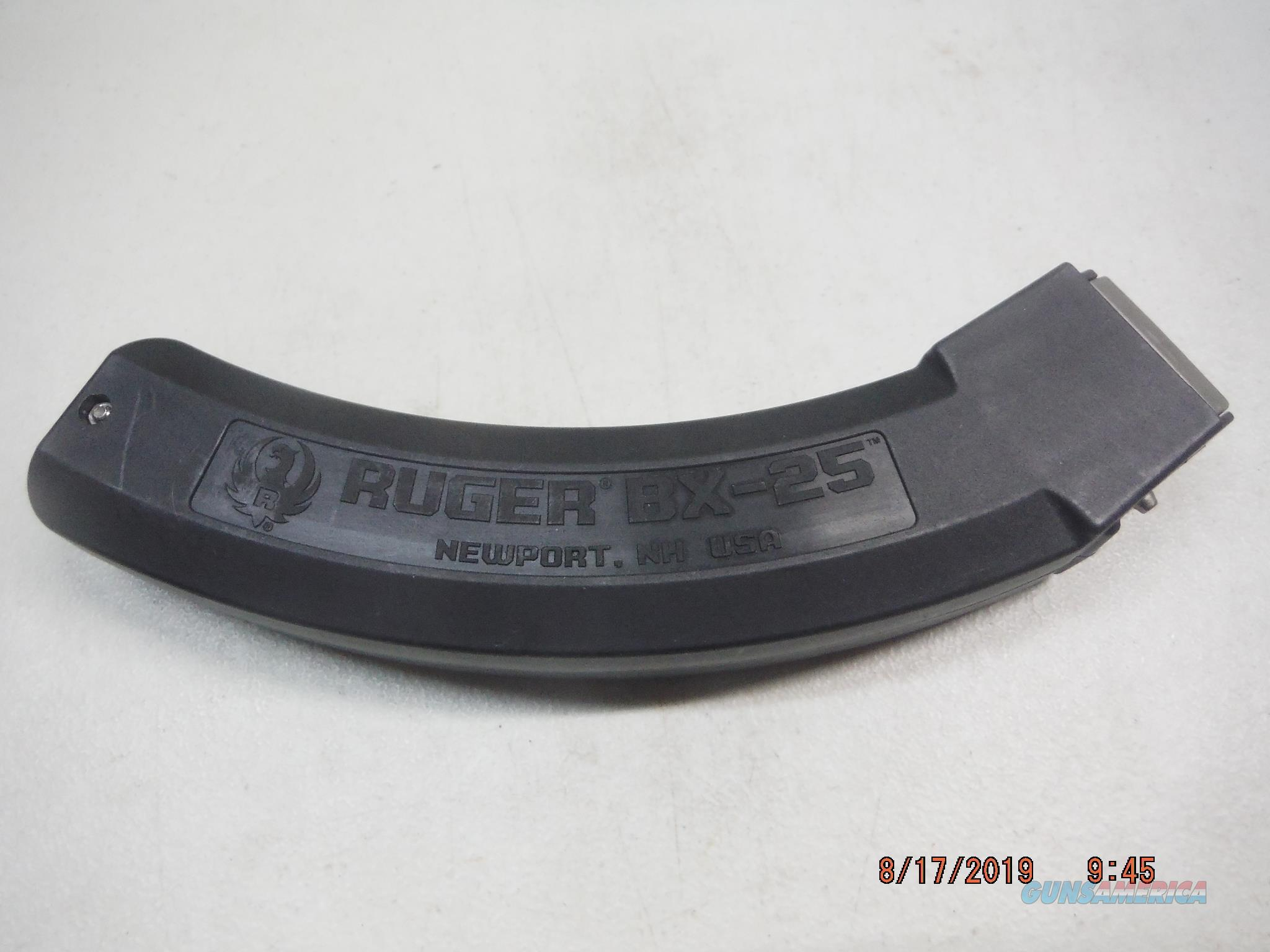 Mag Ruger 10-22 22lr 25Rd New Factory Magazine  Non-Guns > Magazines & Clips > Rifle Magazines > 10/22