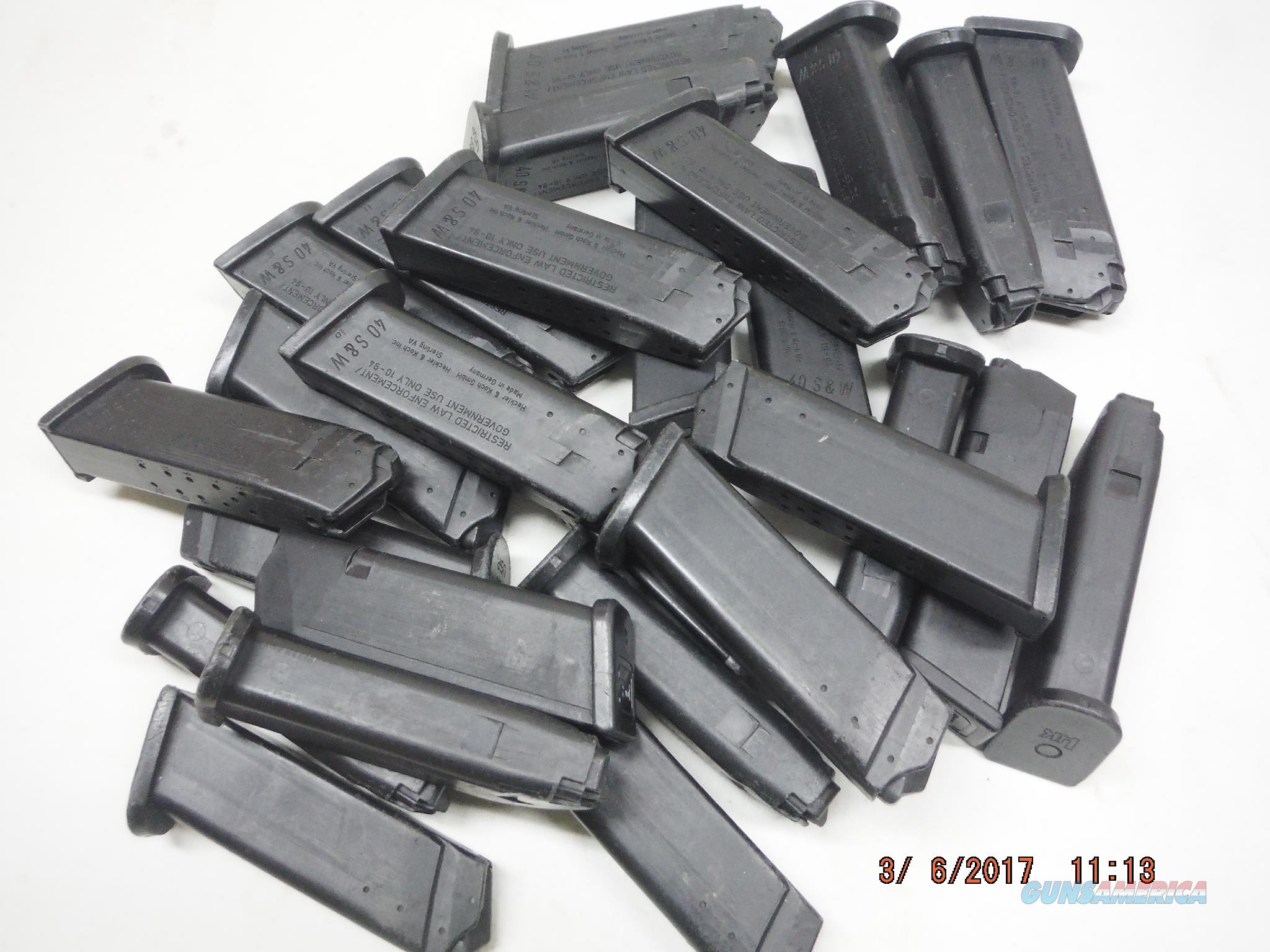 HK USP 40 Magazine 40 S&W 13Rd Factory OEM USP40  Non-Guns > Magazines & Clips > Pistol Magazines > Other