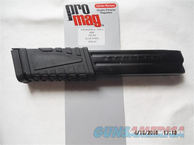 Springfield XDM-9 Magazine 9mm 32Rd XDM9 BIG   Non-Guns > Magazines & Clips > Pistol Magazines > Other