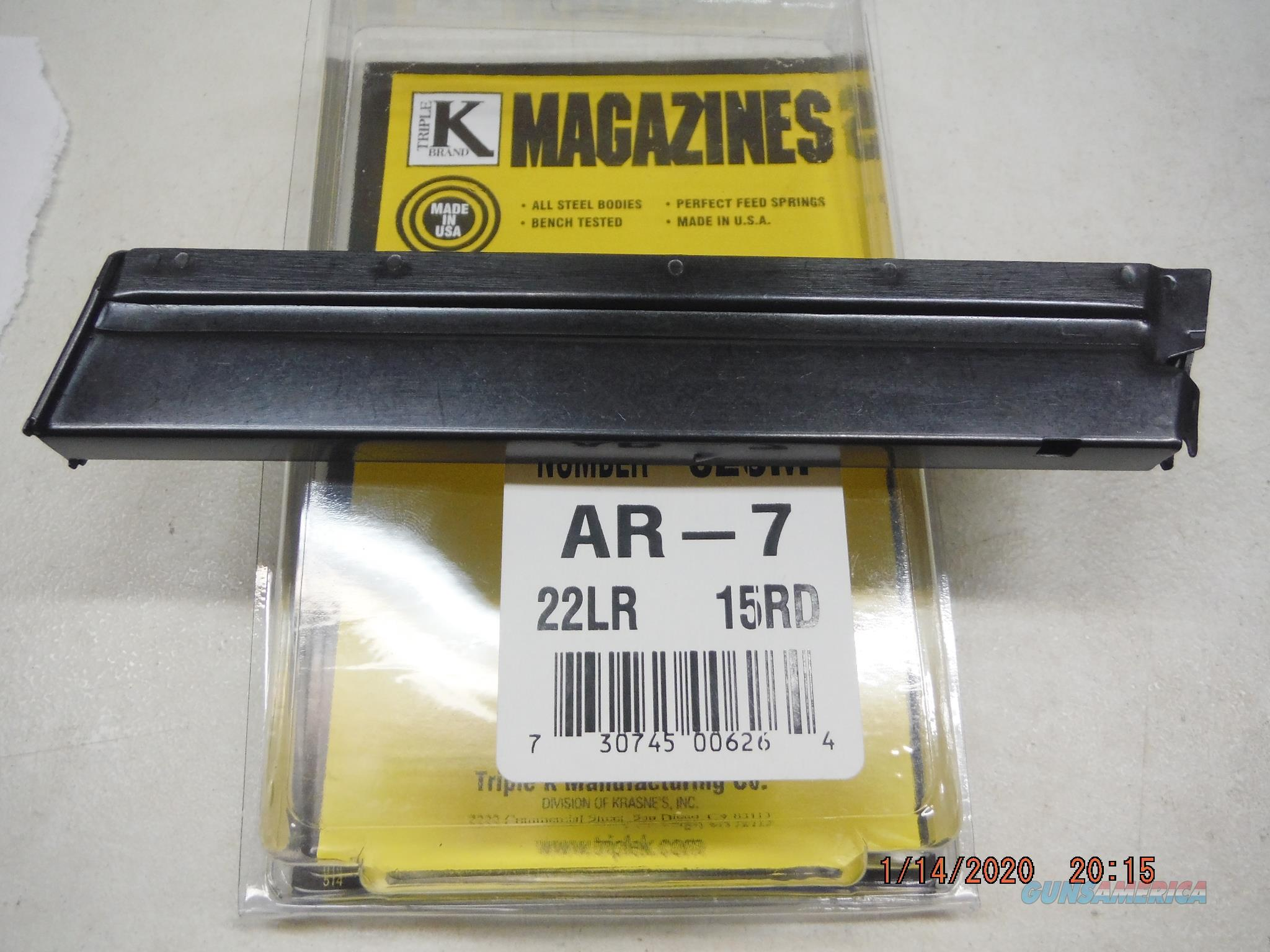 ARMALITE / CHARTER ARMS / AR-7 15Rd 22 Magazine  Non-Guns > Magazines & Clips > Rifle Magazines > Other