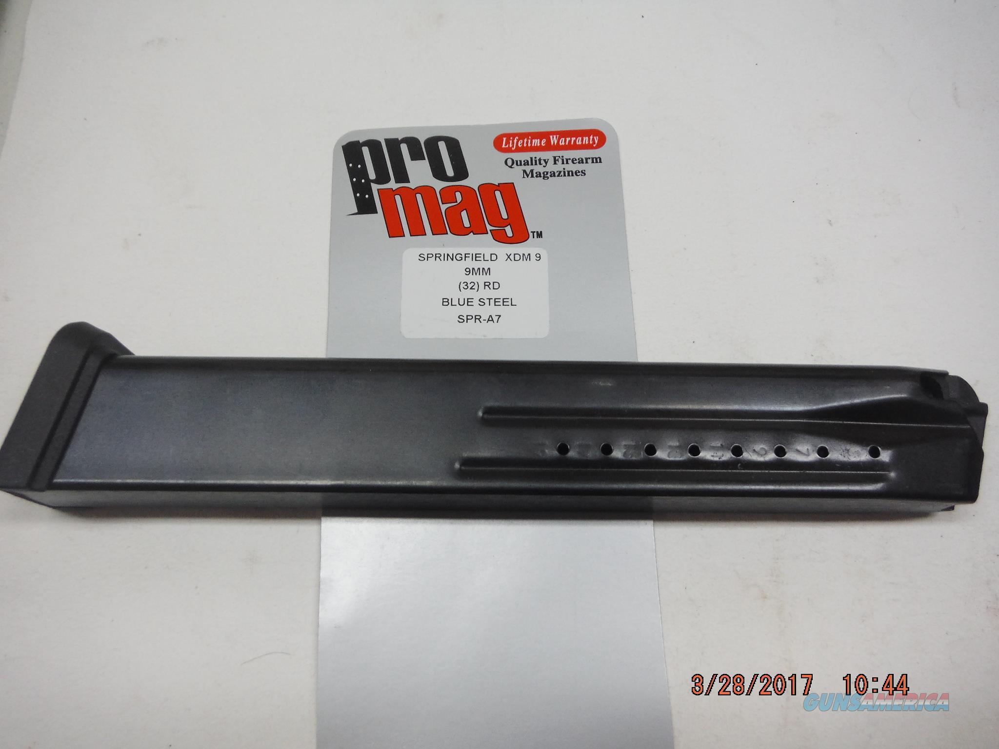 Springfield XDM-9 Magazine 9mm 32Rd XDM9 BIG   Non-Guns > Magazines & Clips > Pistol Magazines > Other