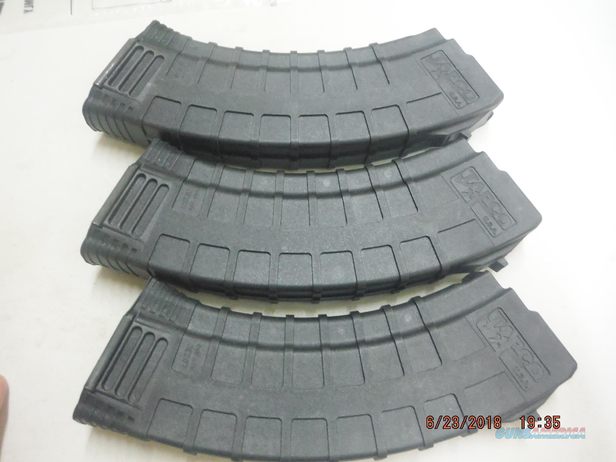 3 Tapco AK-47 / AK47 Magazine 7.62X39 30rd poly Mags AK47 New,  Non-Guns > Magazines & Clips > Rifle Magazines > AK Family