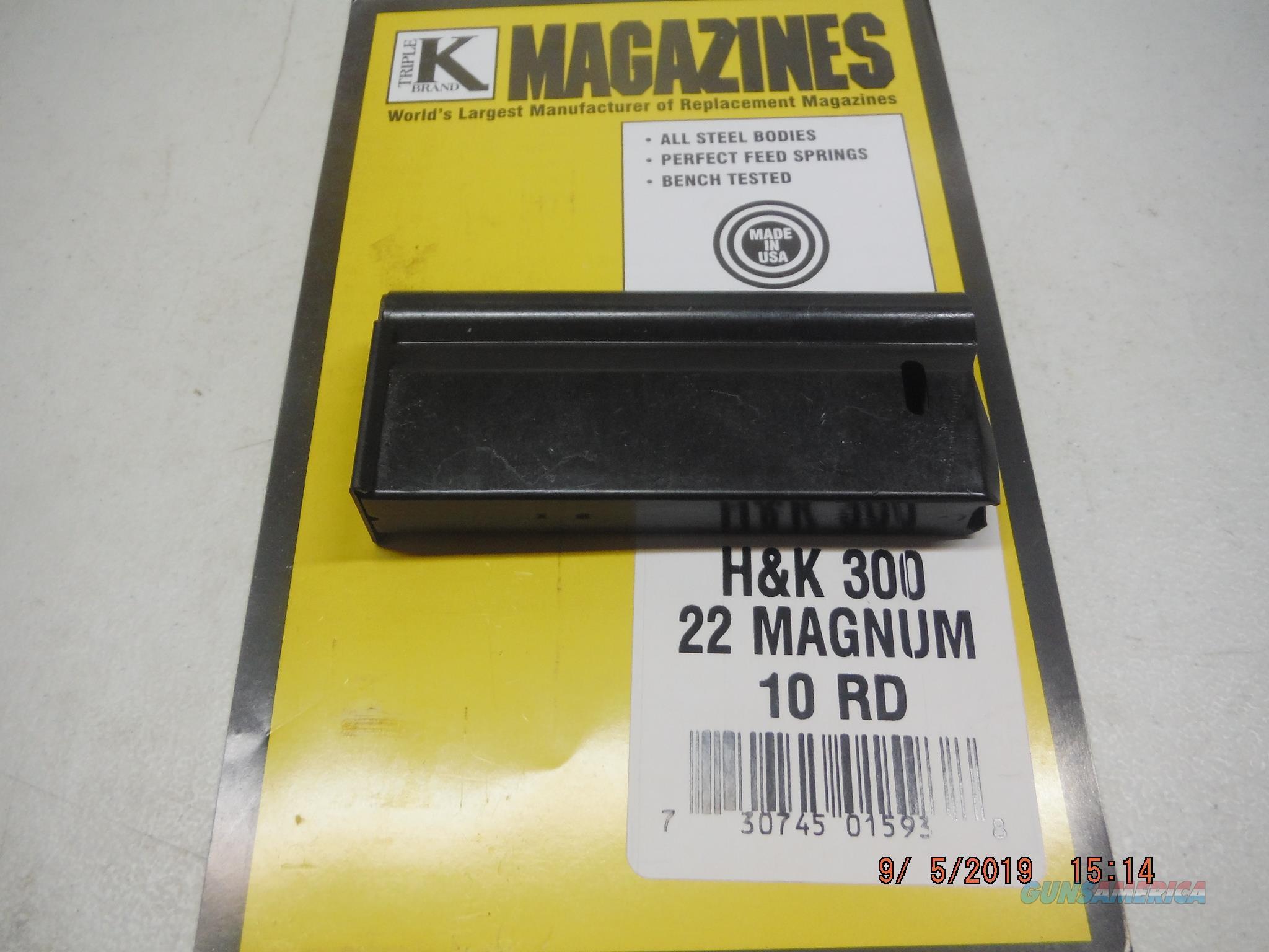 H&K/HK 300 Magazine 22 MAGNUM 10RD HK 300 Mag  Non-Guns > Magazines & Clips > Rifle Magazines > HK/CETME