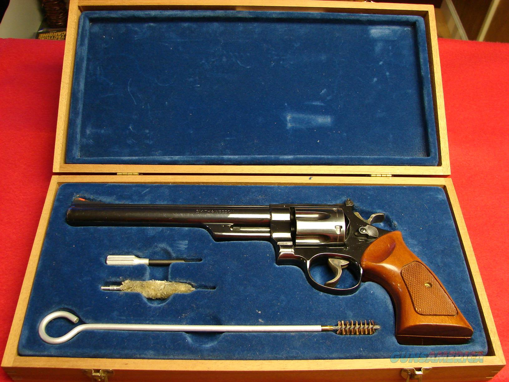 "Smith & Wesson Model 29 - 2 - 44 Magnum - 8 3/8"" BBL w/Factory Wooden Case  Guns > Pistols > Smith & Wesson Revolvers > Full Frame Revolver"