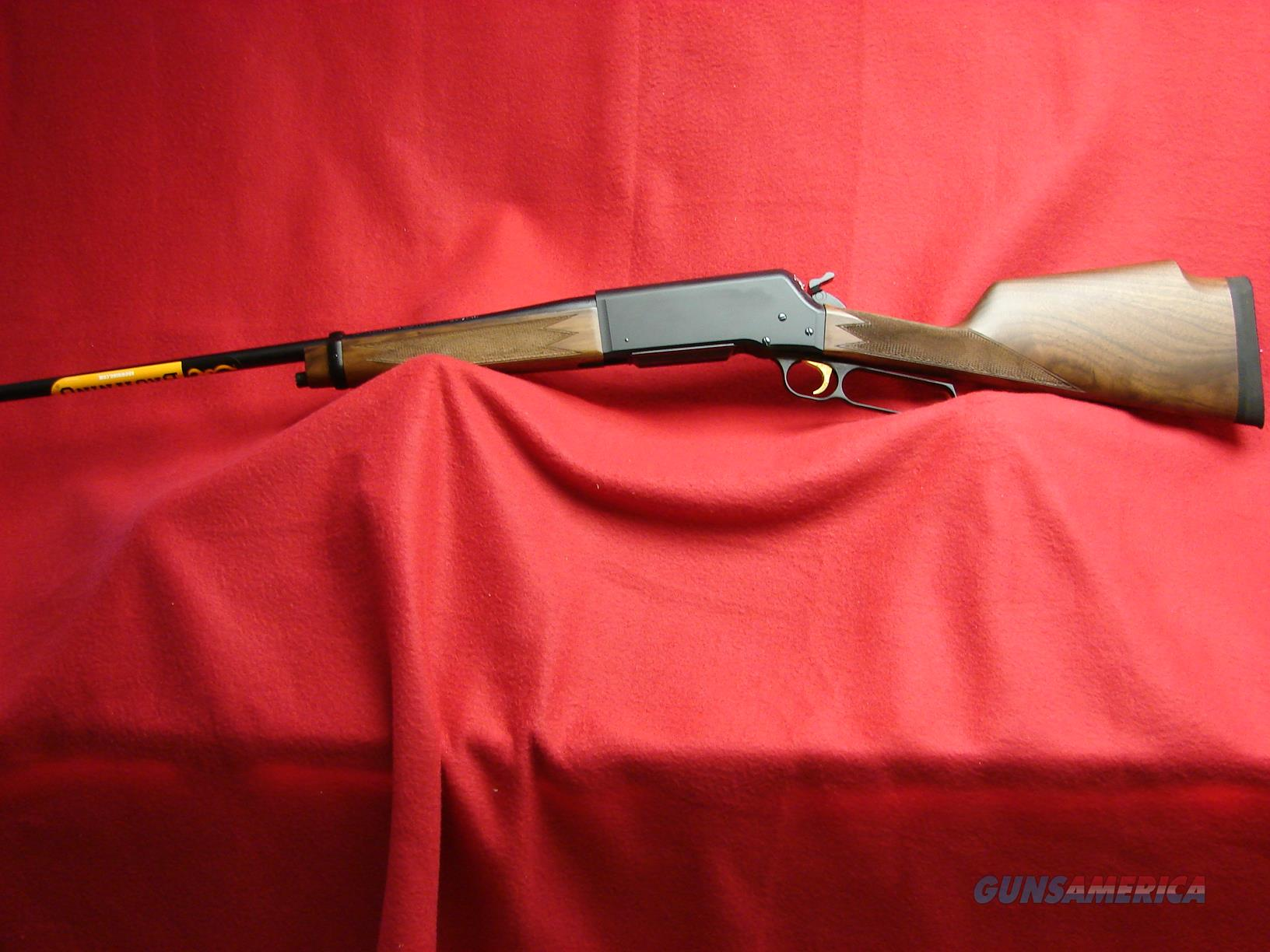 Browning BLR - Model 81 - Monte Carlo Stock - Lt Wt - 308 cal - NIB  Guns > Rifles > Browning Rifles > Lever Action