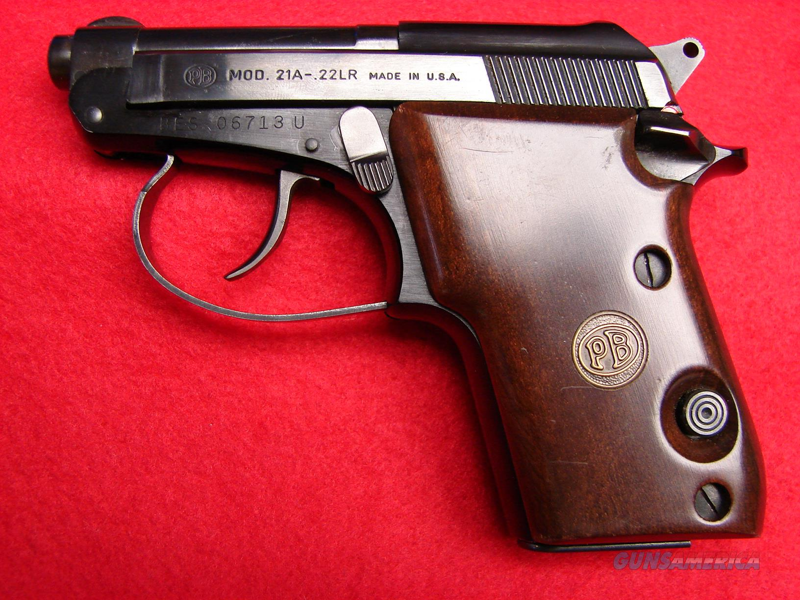 Beretta Model 21 A - 22 LR - Tip-Up Barrel - Used  Guns > Pistols > Beretta Pistols > Small Caliber Tip Out
